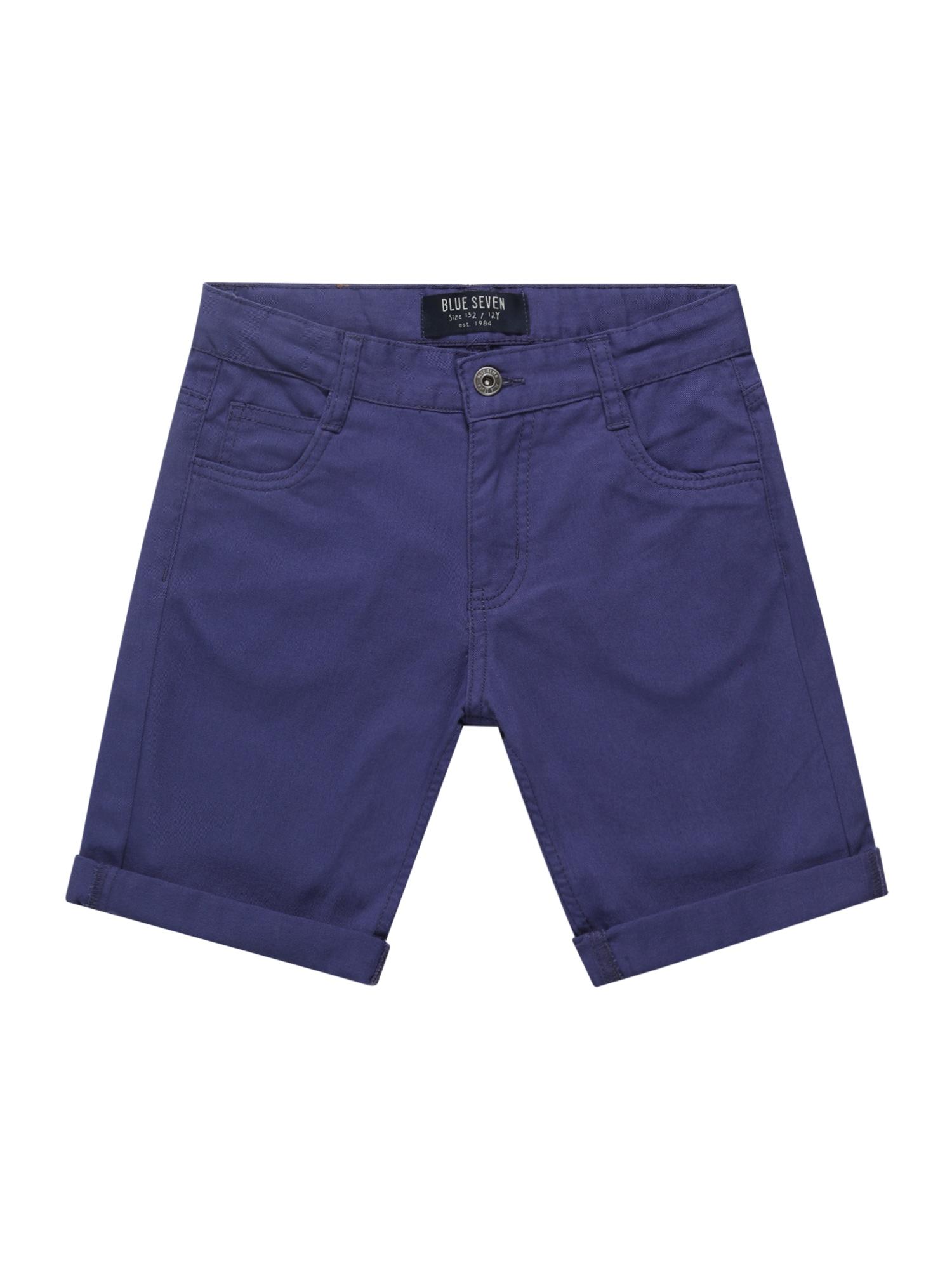 BLUE SEVEN Kelnės tamsiai (džinso) mėlyna