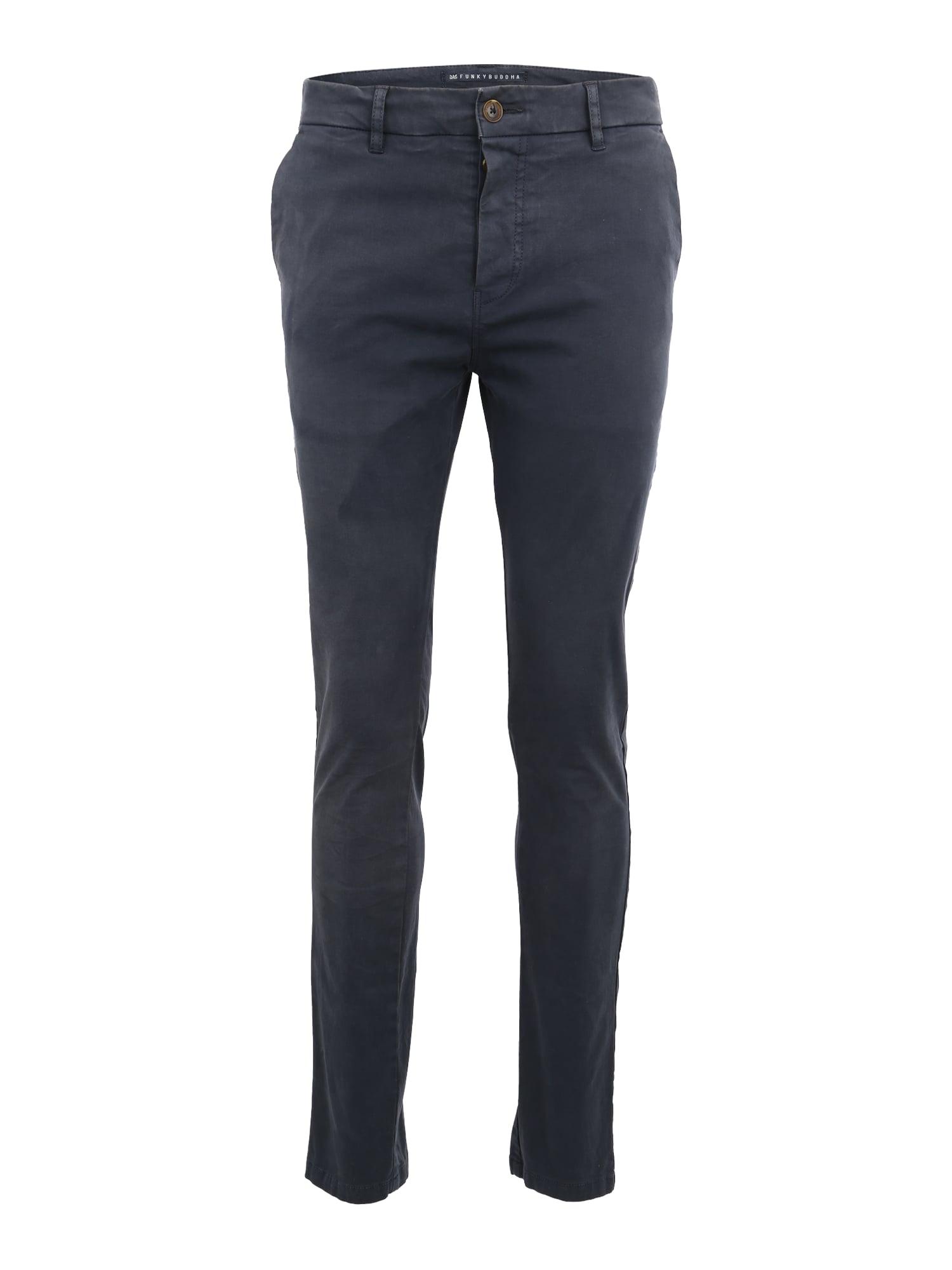 Chino kalhoty námořnická modř Funky Buddha