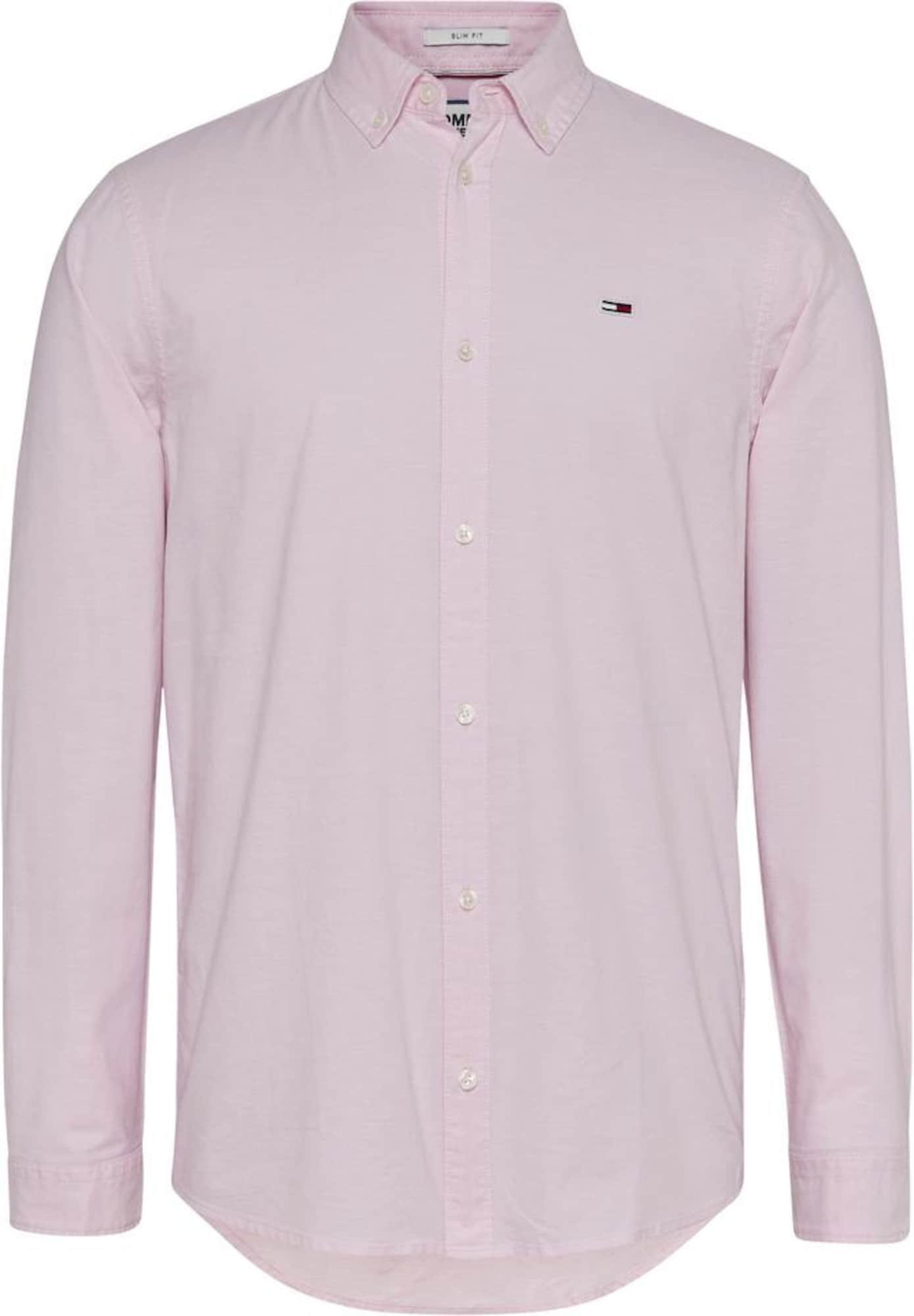 Tommy Jeans Košeľa  ružová