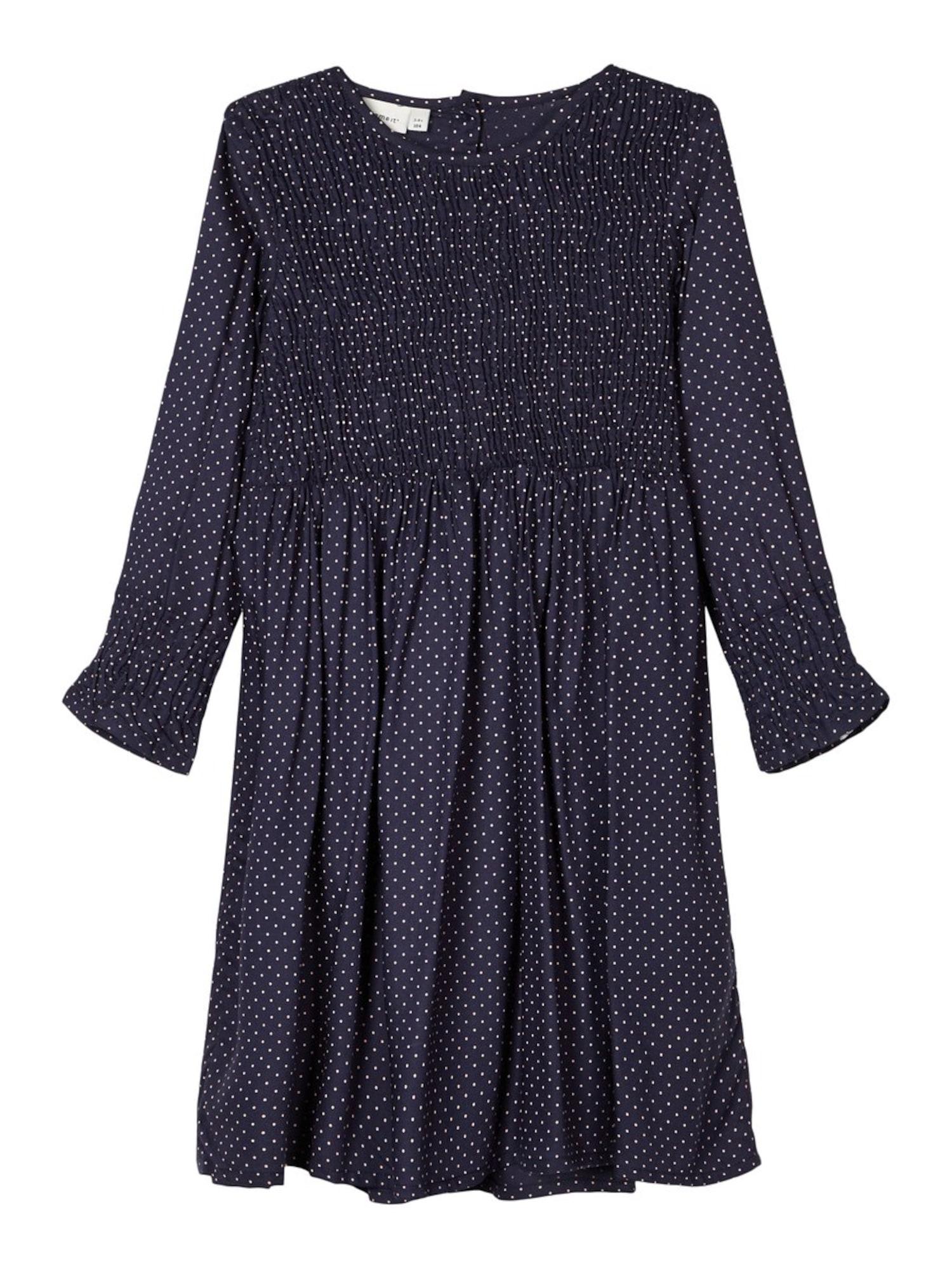 NAME IT Suknelė balta / tamsiai mėlyna