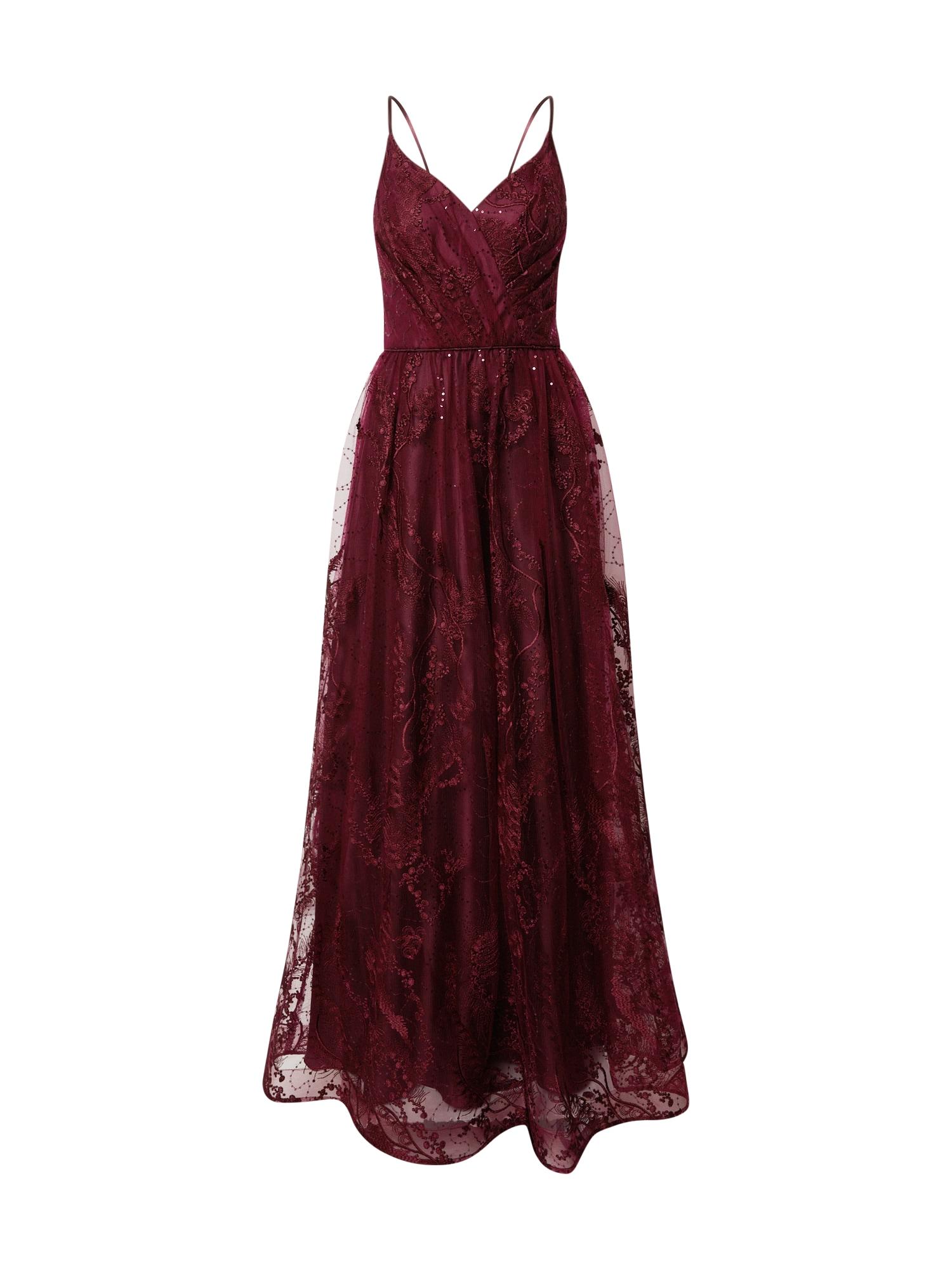 Unique Suknelė tamsiai raudona