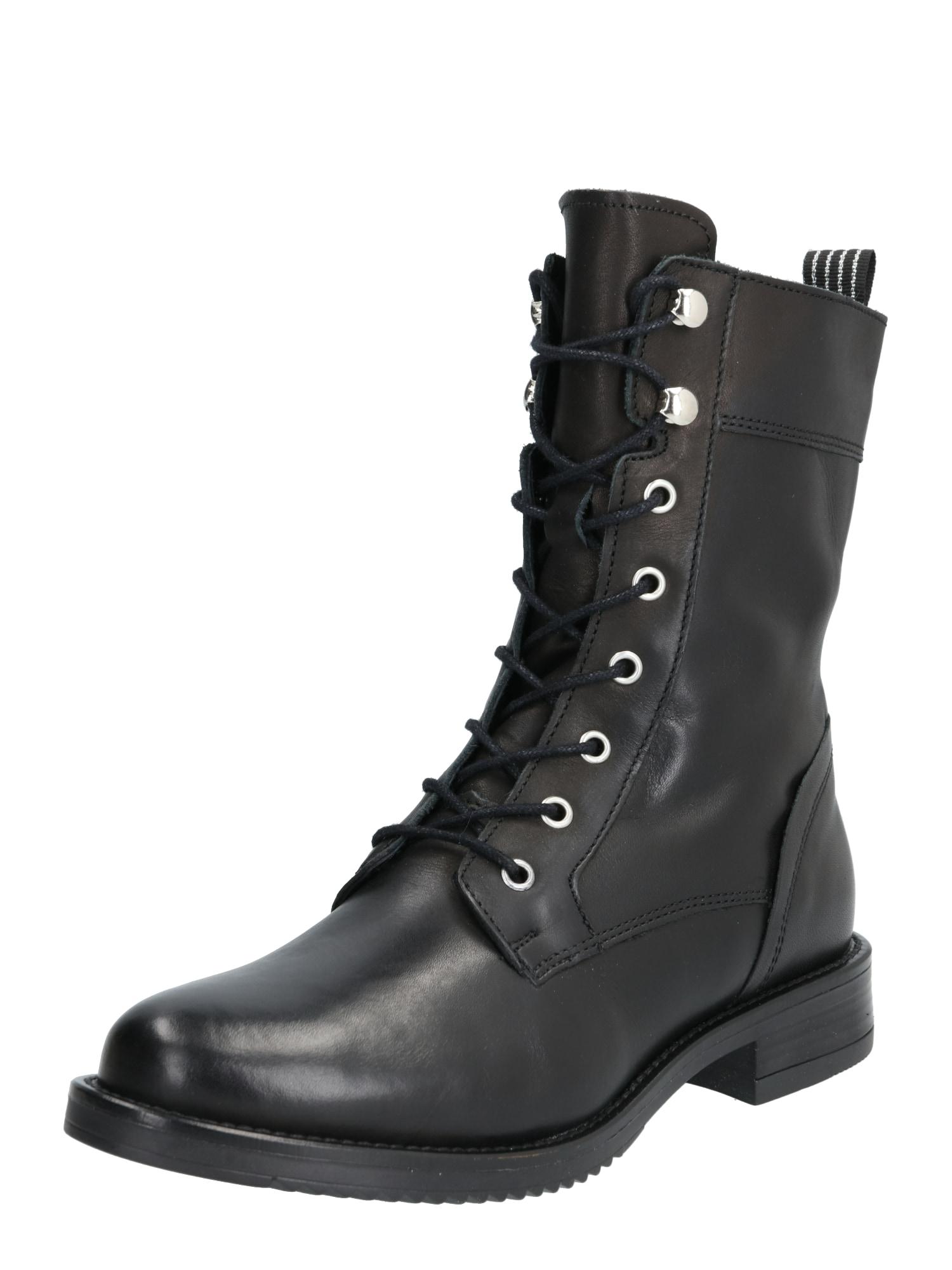 PS Poelman Suvarstomieji batai juoda