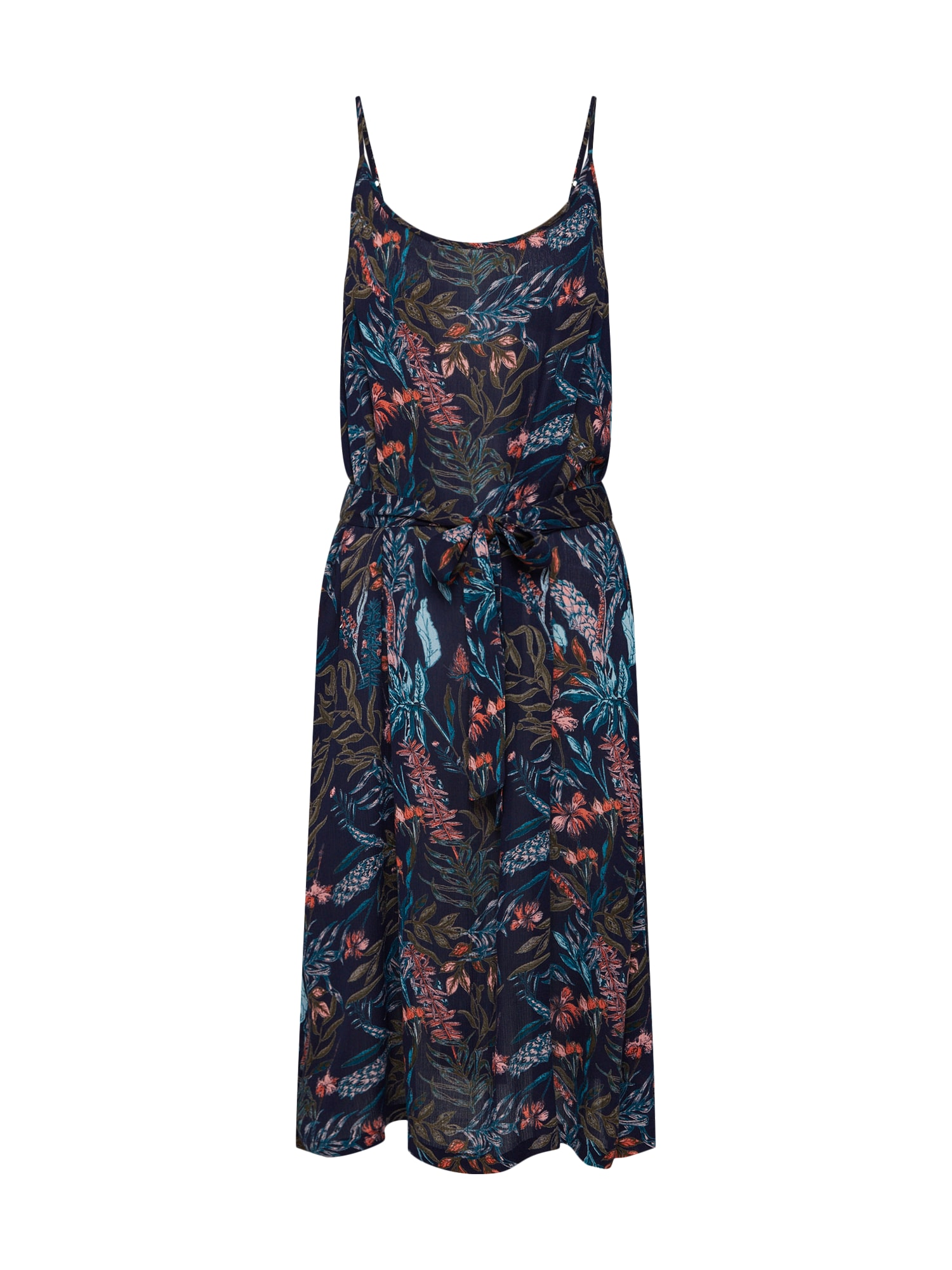 Letní šaty jennifer tmavě modrá mix barev Kaffe
