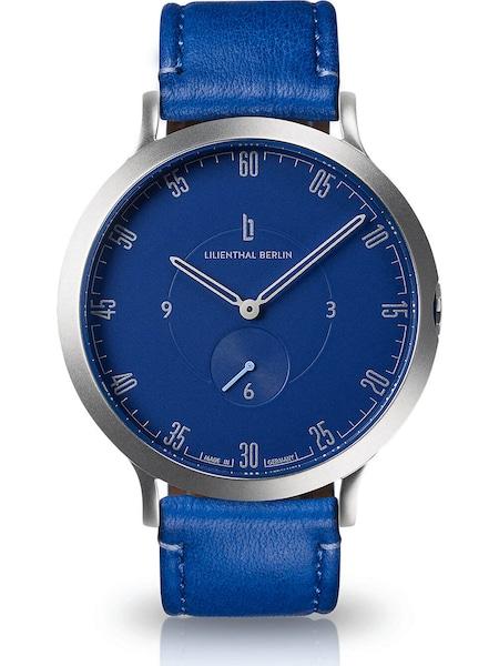 Uhren für Frauen - Lilienthal Berlin Uhr 'L01 103 B017A' blau silber  - Onlineshop ABOUT YOU