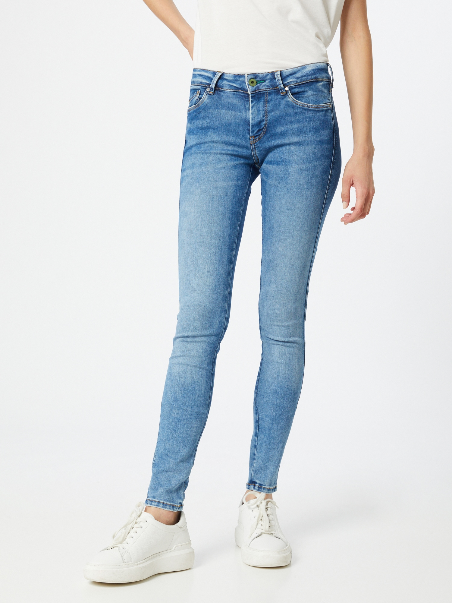 Pepe Jeans Jeans 'Pixie Stitch'  blå denim