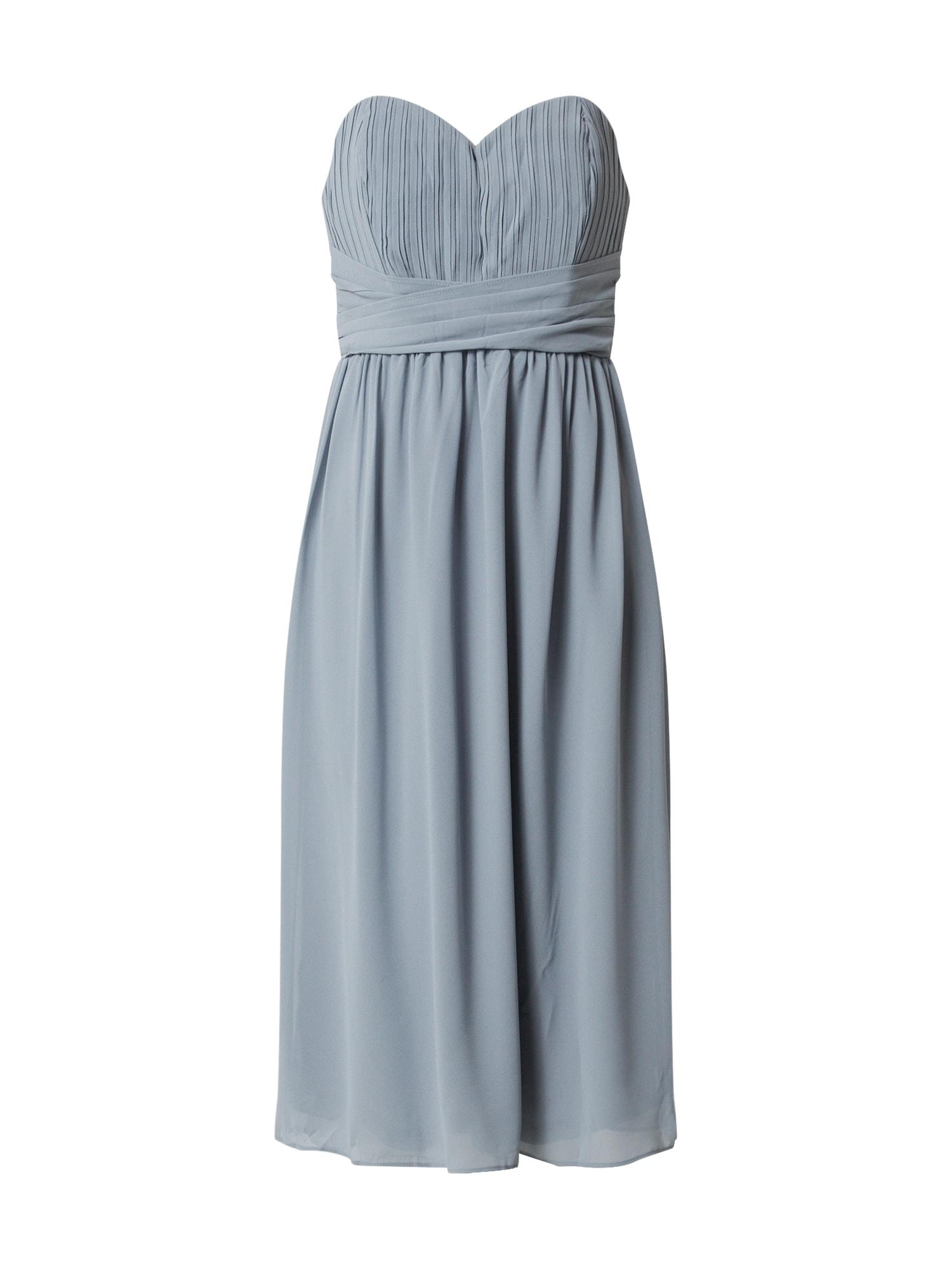 TFNC Kokteilinė suknelė pilka / mėlyna