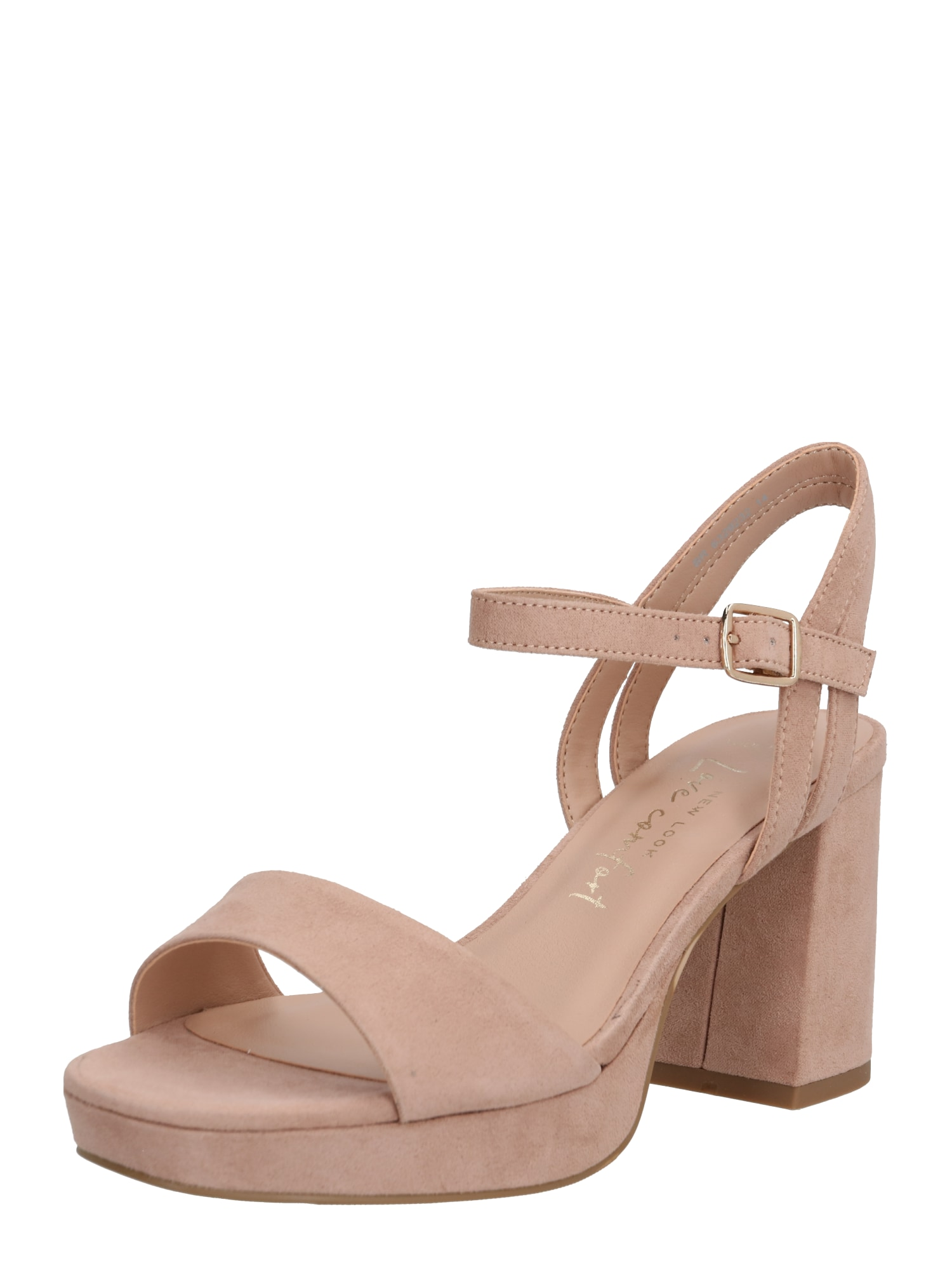 NEW LOOK Remienkové sandále 'ZEBRA'  krémová