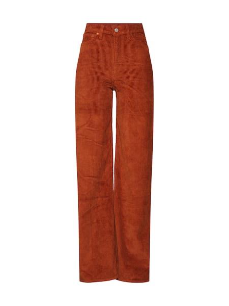 Hosen für Frauen - LEVI'S Hose 'RIBCAGE WIDE LEG' karamell  - Onlineshop ABOUT YOU