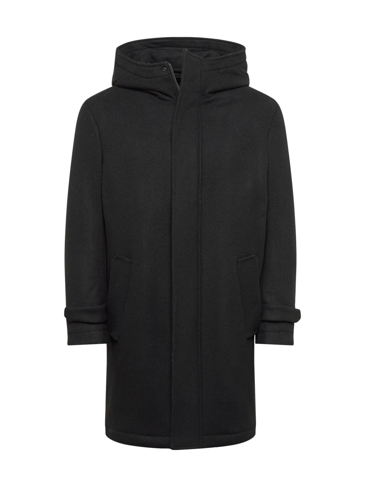 DRYKORN Žieminis paltas juoda
