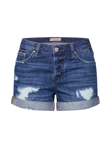 Hosen für Frauen - Shorts › Funky Buddha › blue denim  - Onlineshop ABOUT YOU