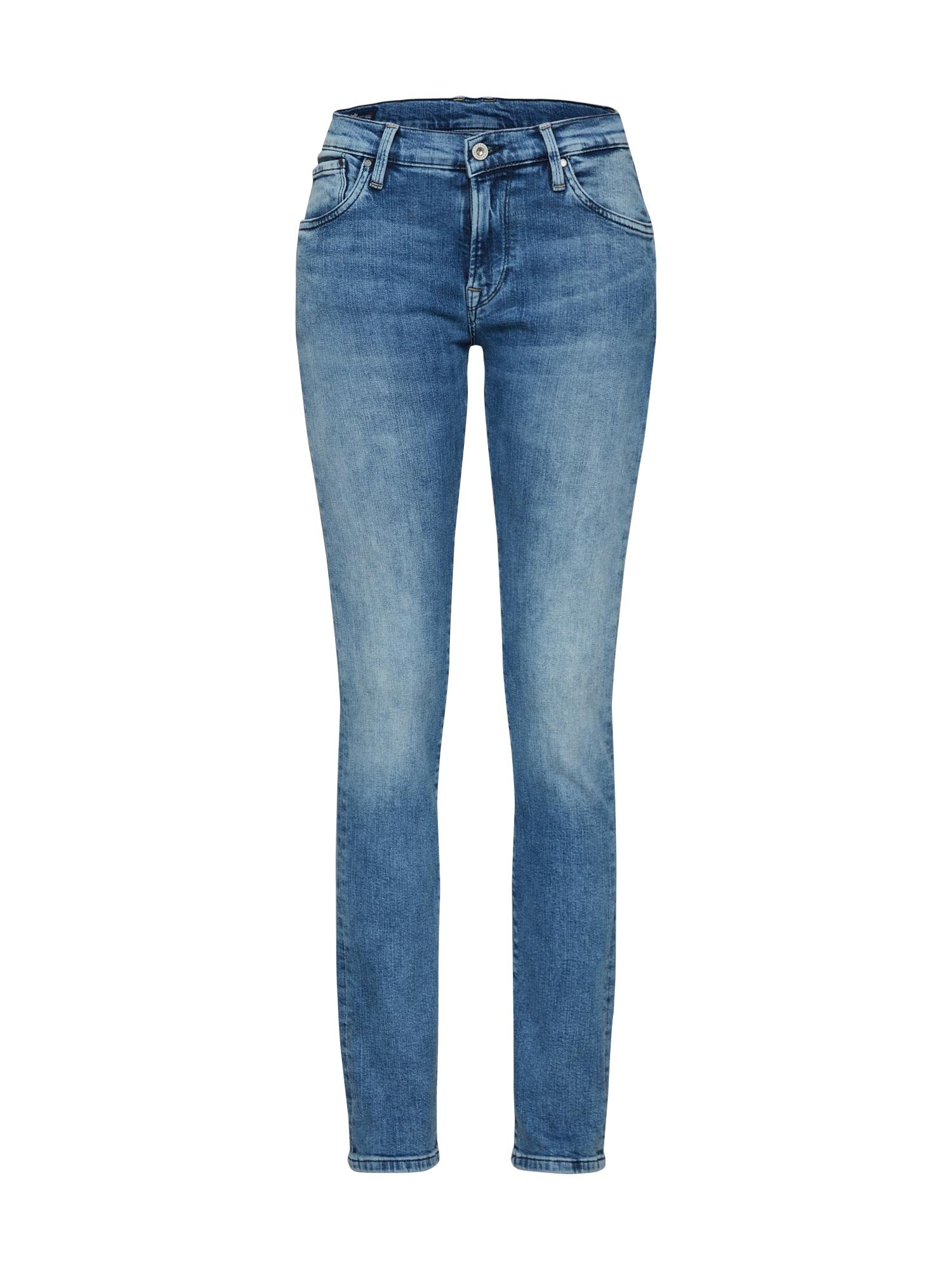 Džíny Victoria modrá džínovina Pepe Jeans