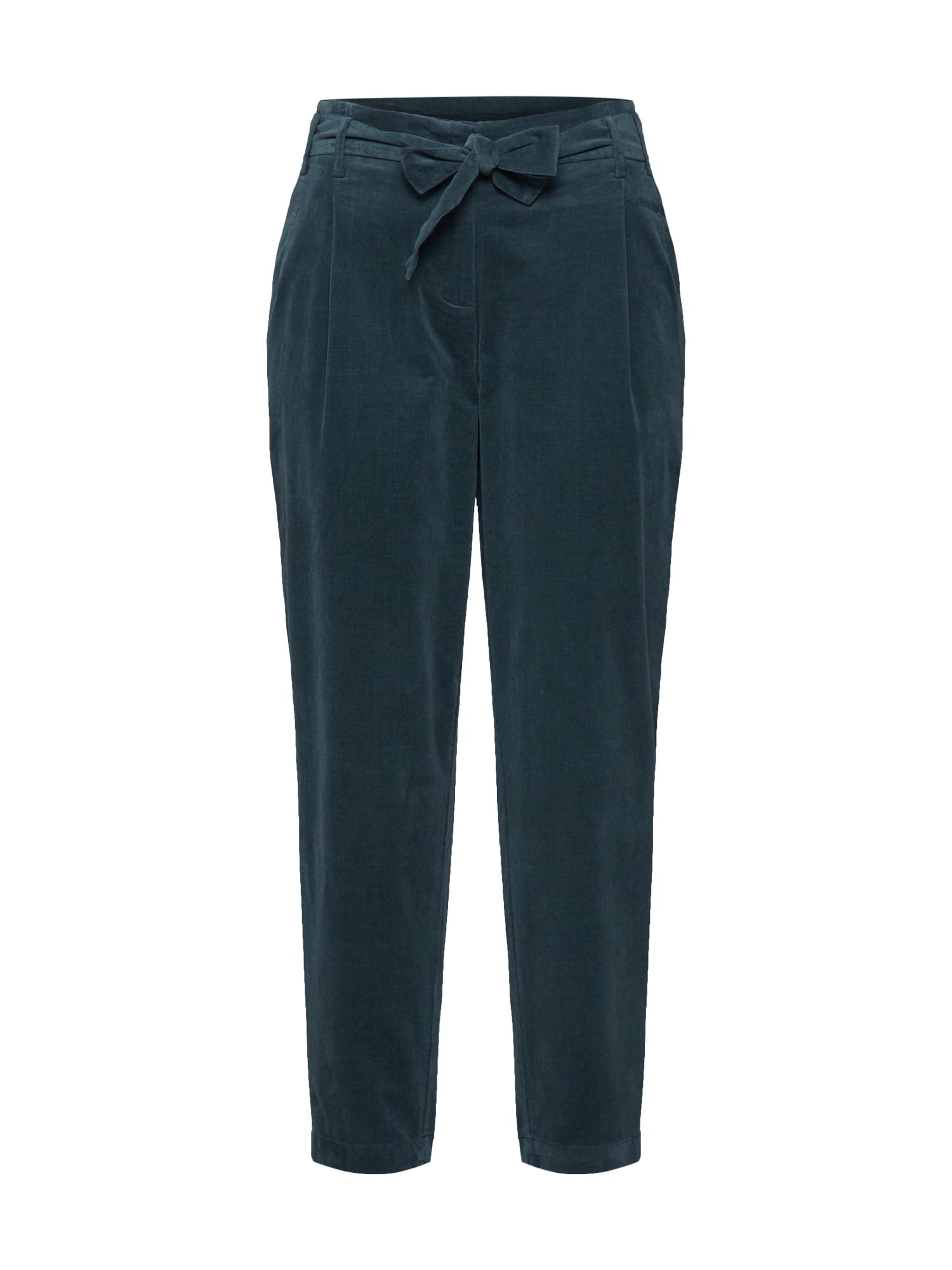 re.draft Kelnės 'Cord Pants' žalia