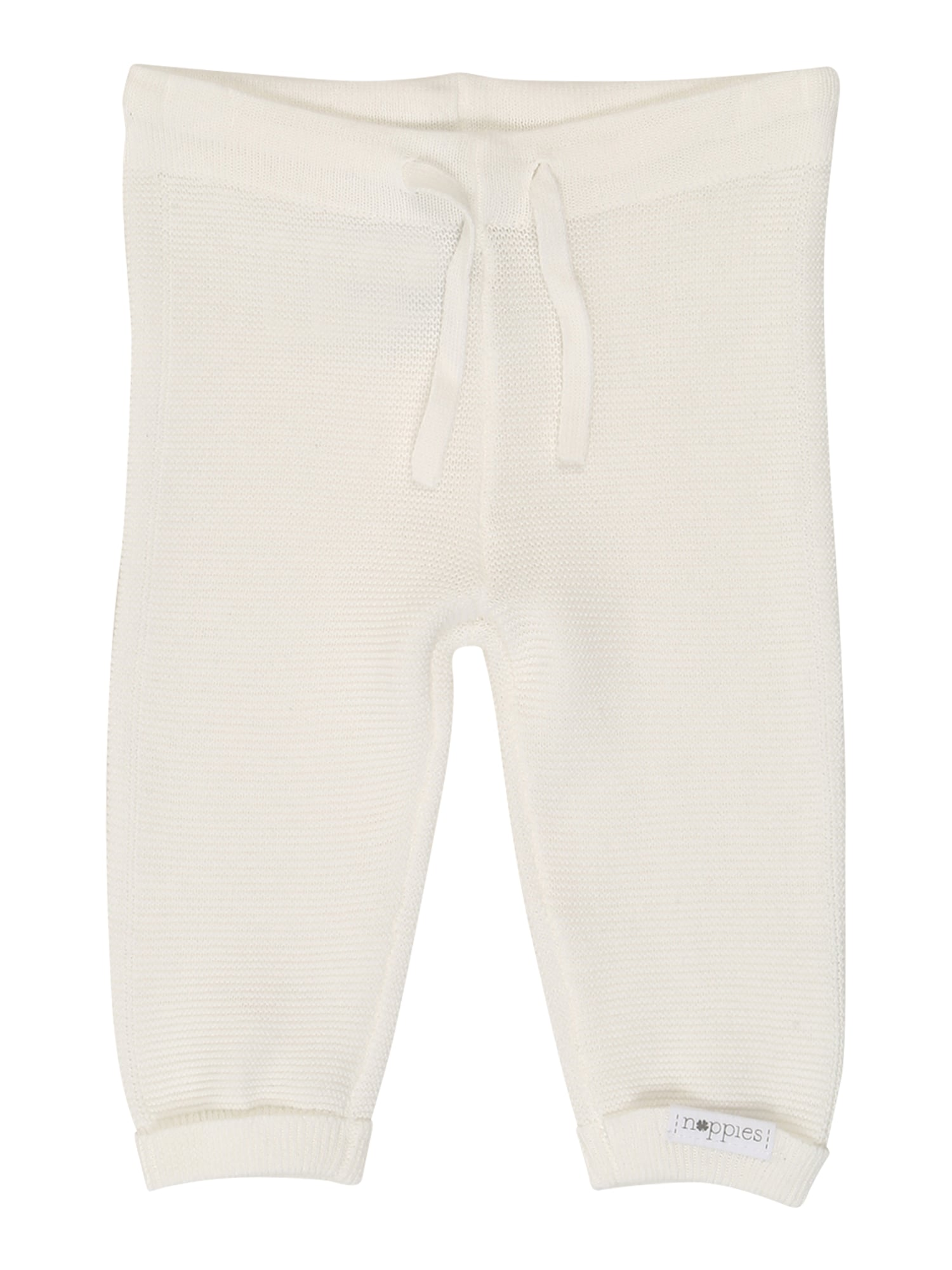 Noppies Kelnės 'U Pants Knit Reg Grover' balta