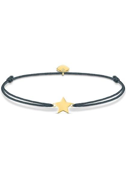 Armbaender für Frauen - Thomas Sabo Armband Little Secret 'Stern' gold grau  - Onlineshop ABOUT YOU