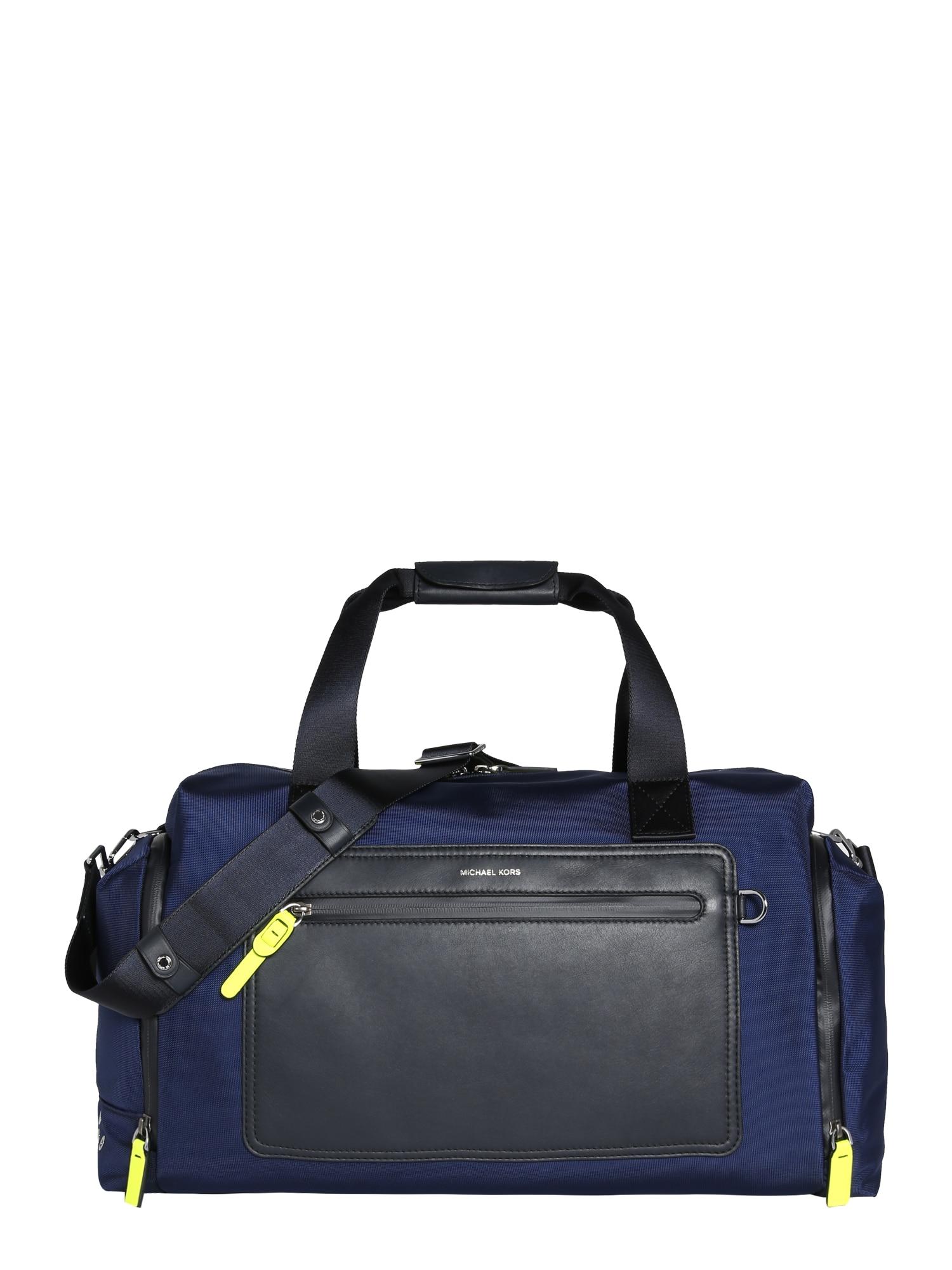 Michael Kors Víkendová taška  čierna / námornícka modrá