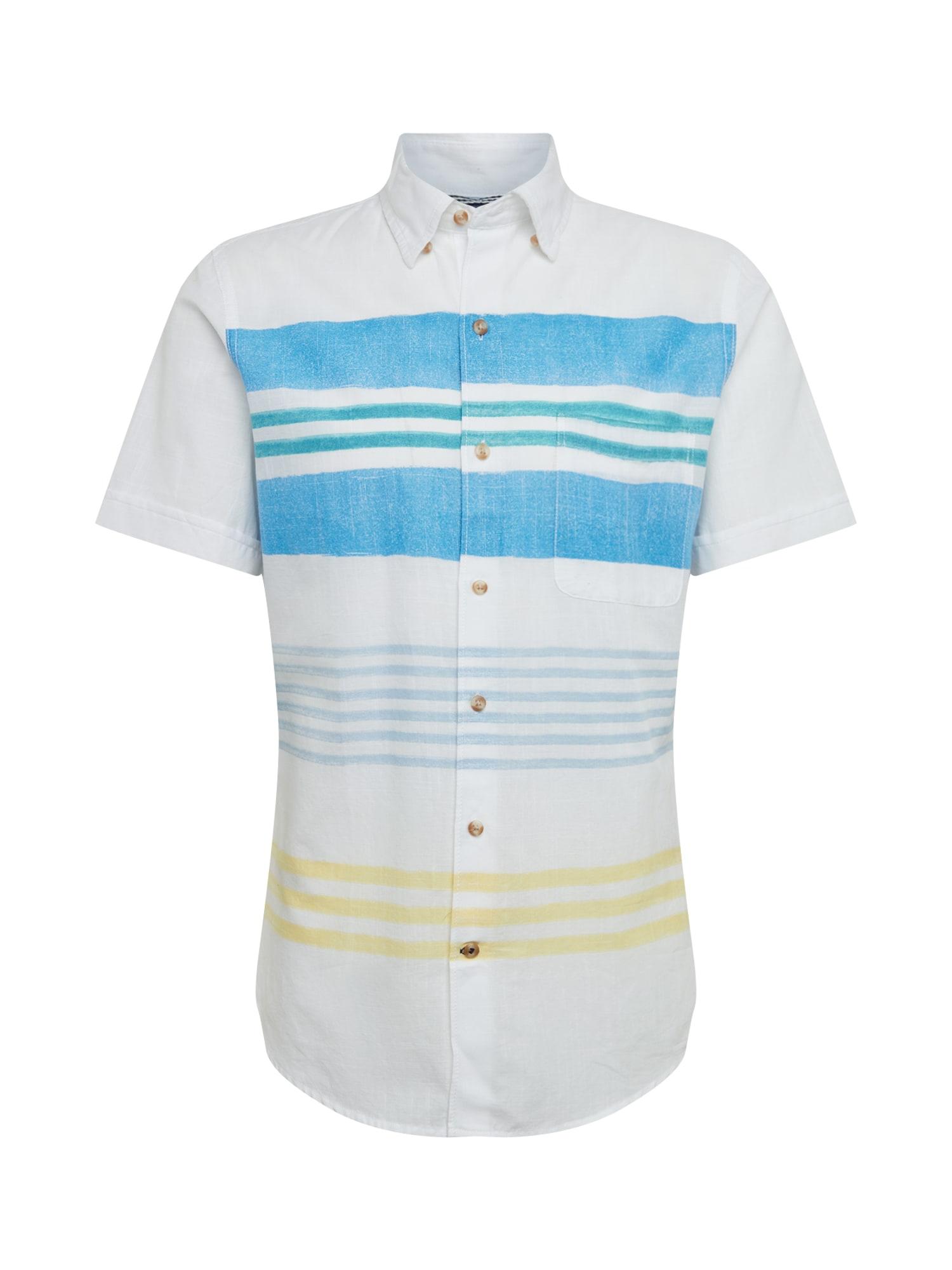 IZOD Dalykiniai marškiniai 'HORIZONTAL STRIPE PR' mėlyna