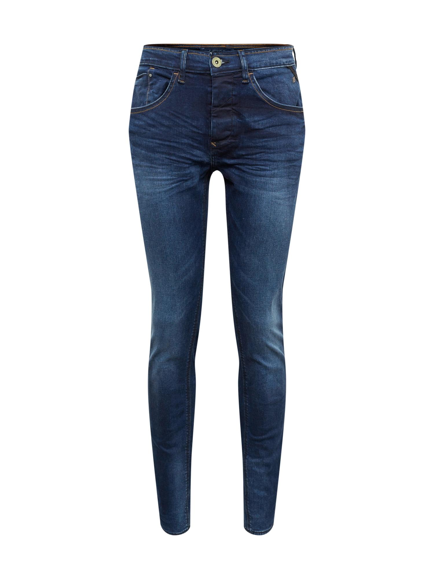 BLEND Džinsai 'Twister Regular Straight' tamsiai (džinso) mėlyna