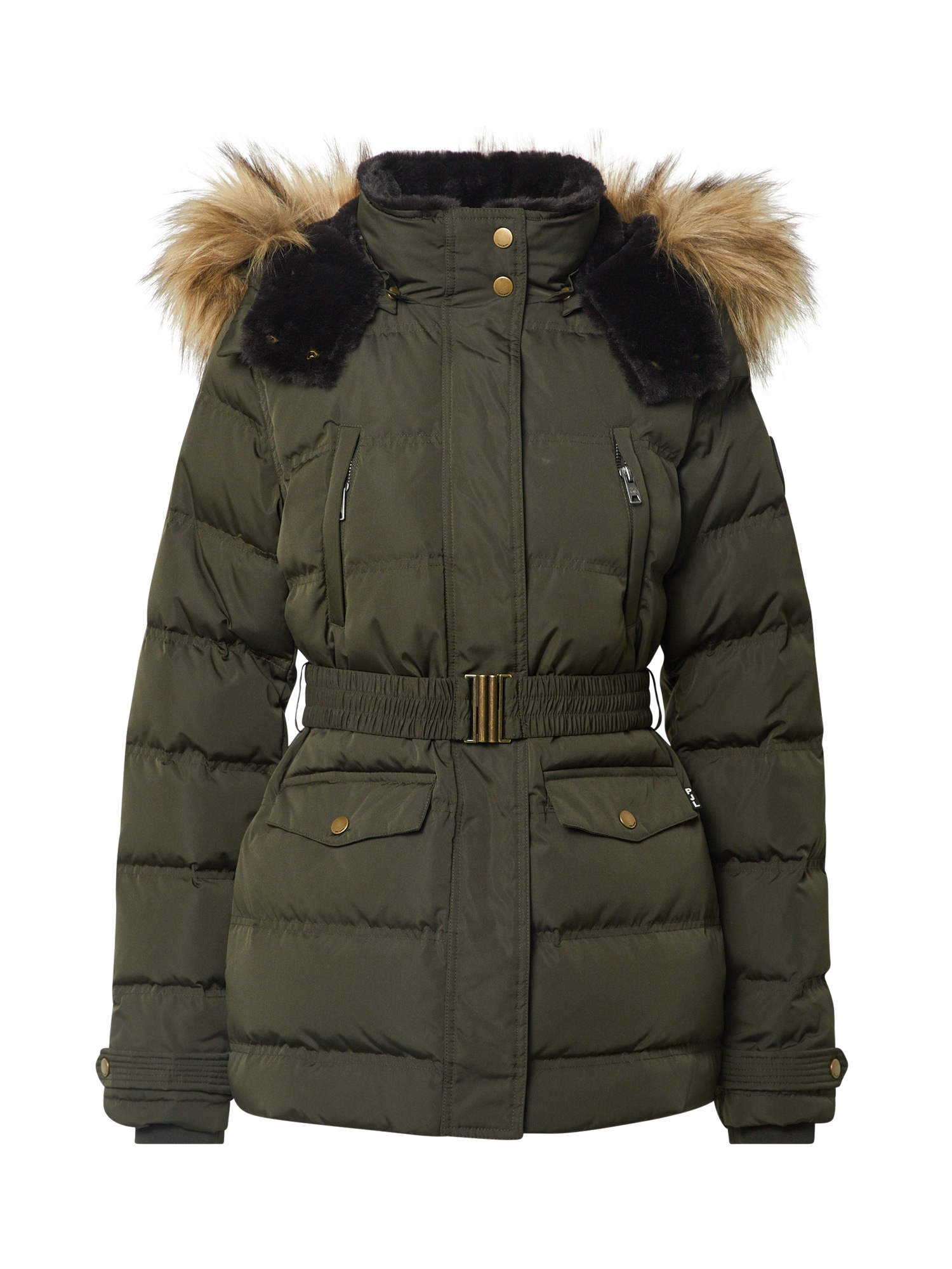 Pepe Jeans Zimní bunda 'Almah'  tmavě zelená