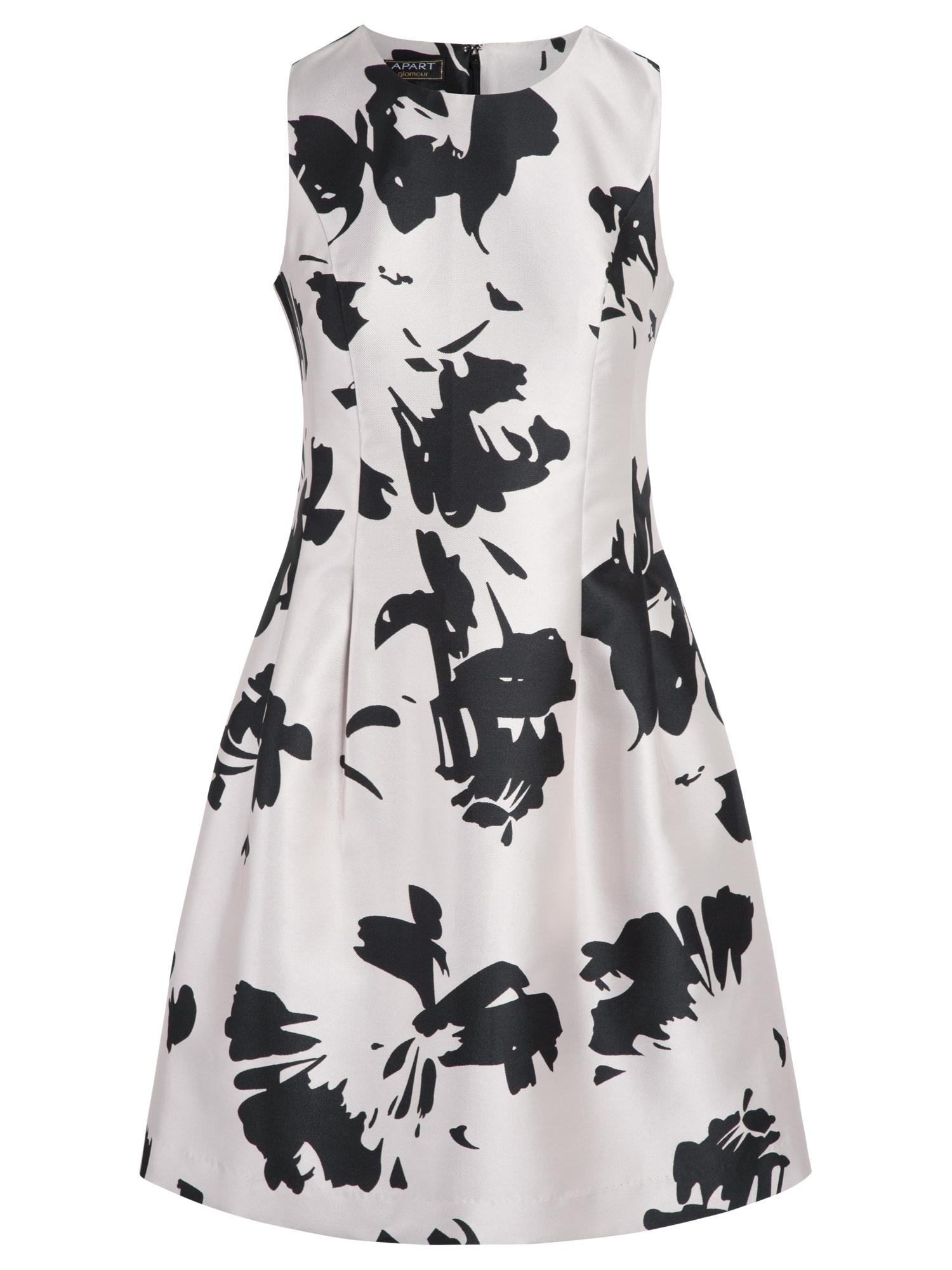 APART Kokteilinė suknelė pudros spalva / juoda