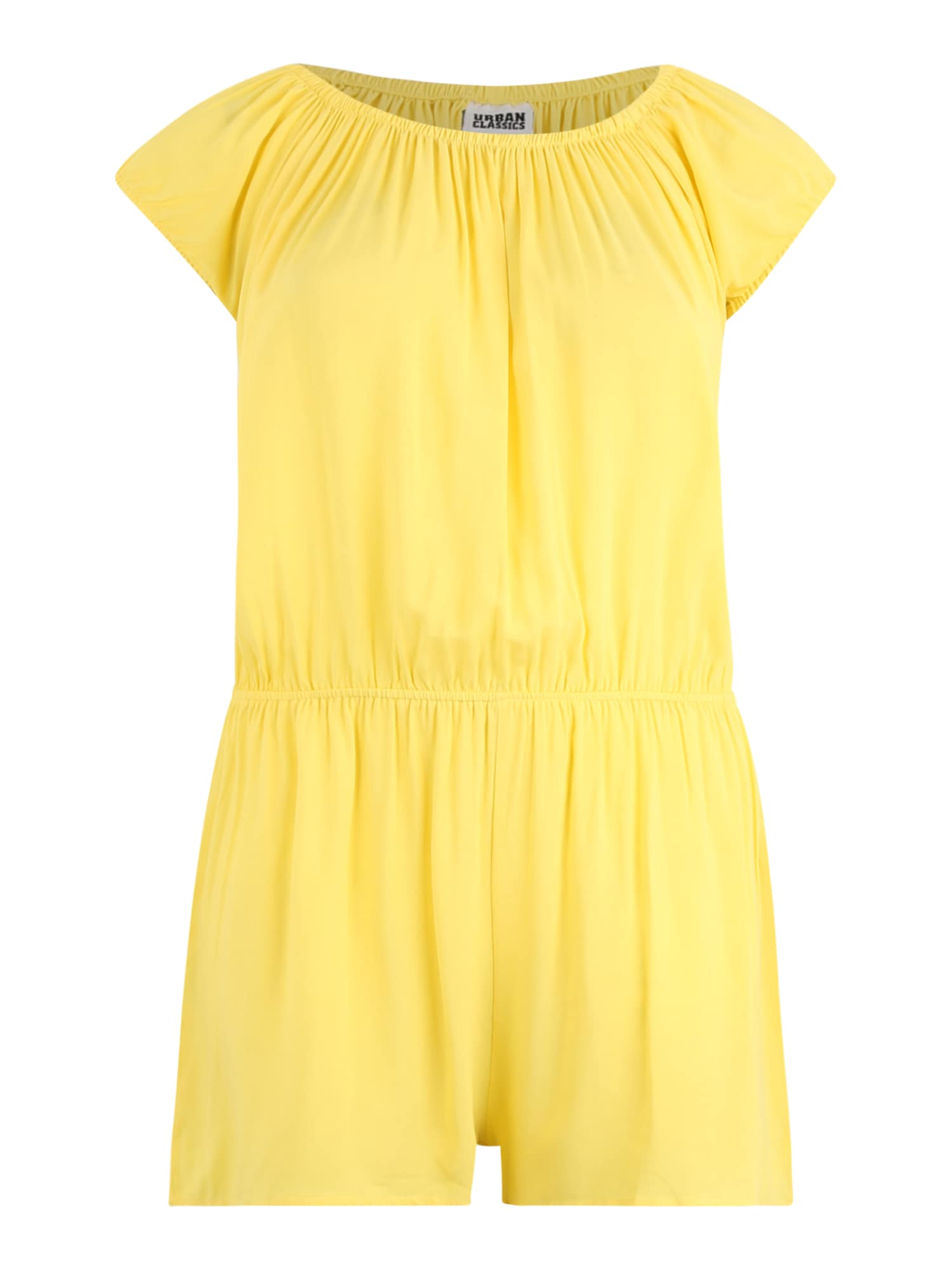 Urban Classics Curvy Kombinezono tipo kostiumas geltona
