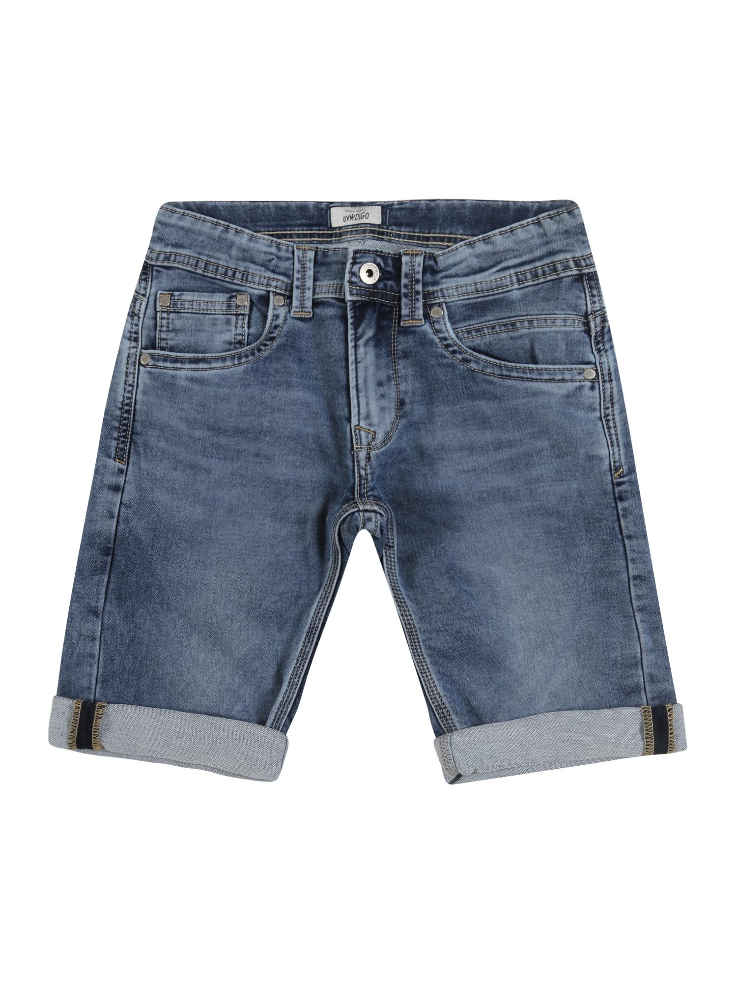 Pepe Jeans Džinsai 'TRACKER SHORT' tamsiai (džinso) mėlyna