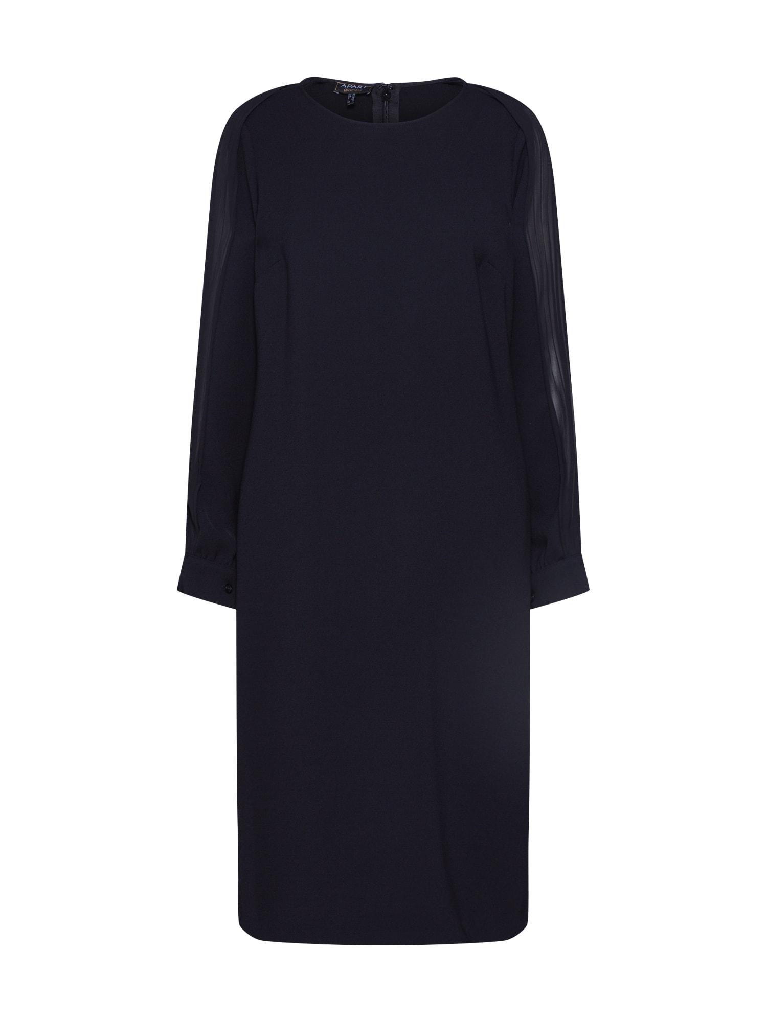 APART Kokteilinė suknelė juoda