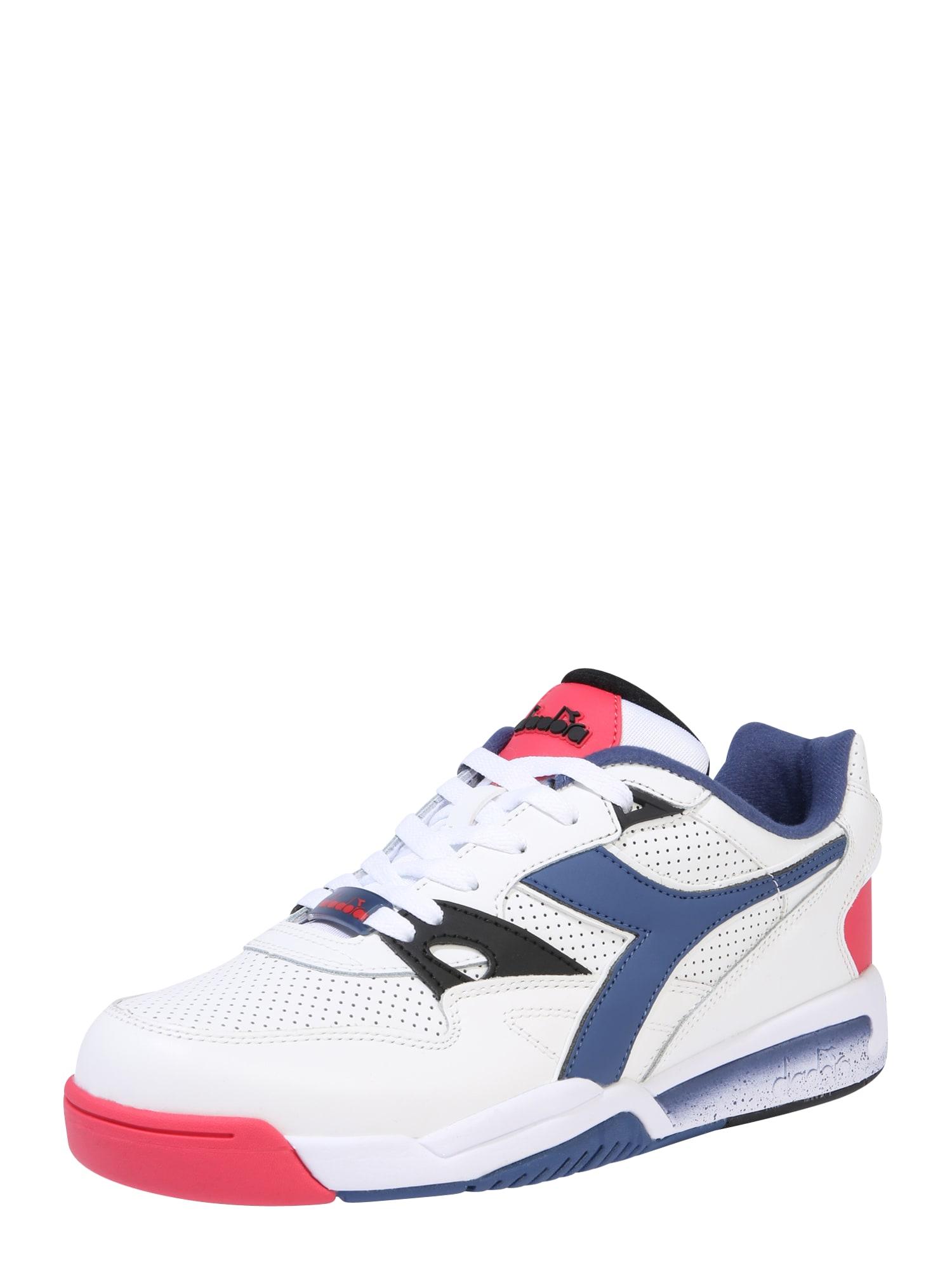 Diadora Sportiniai batai 'REBOUND ACE' tamsiai mėlyna / raudona / balta