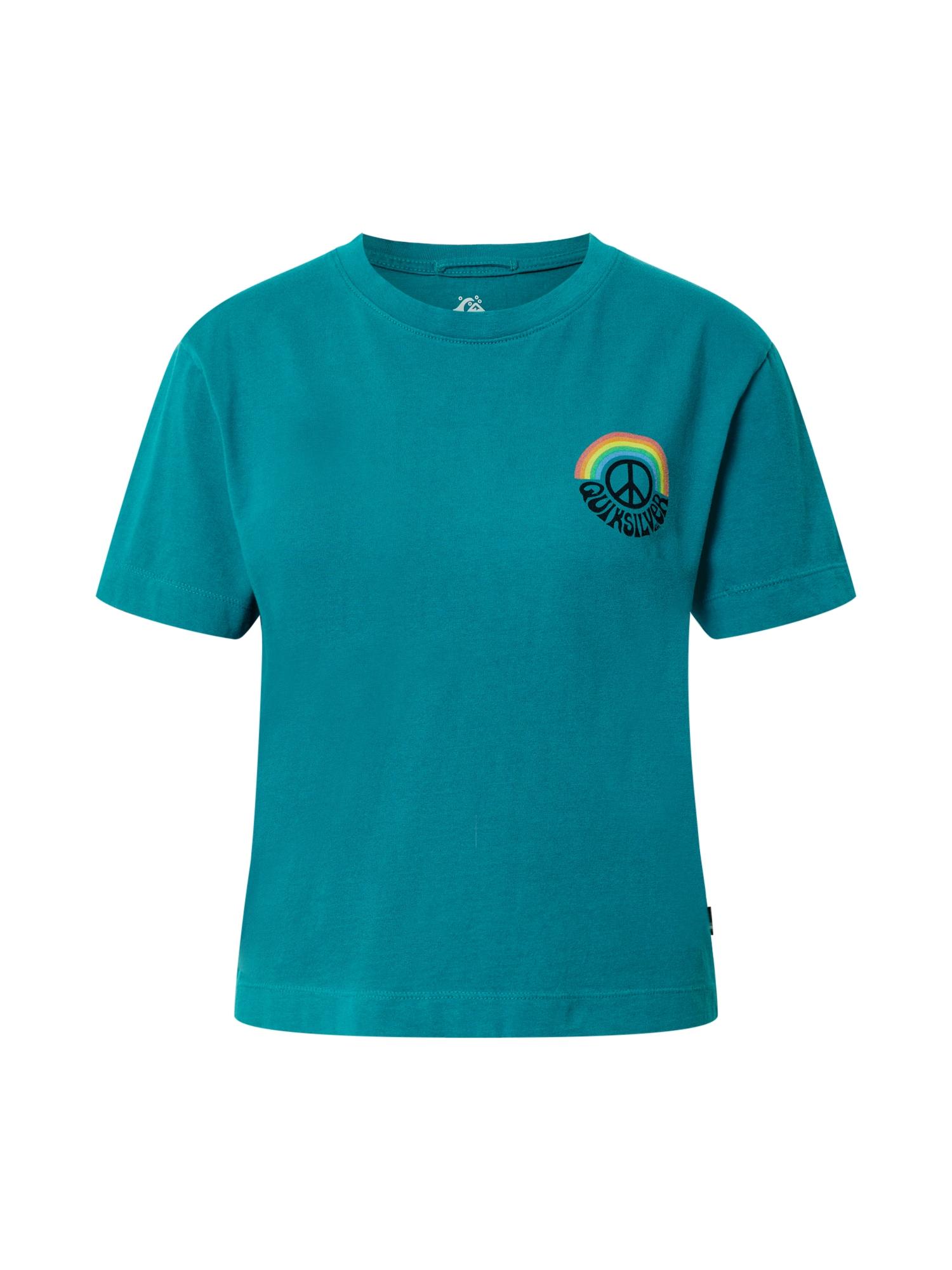 QUIKSILVER Marškinėliai benzino spalva / mišrios spalvos