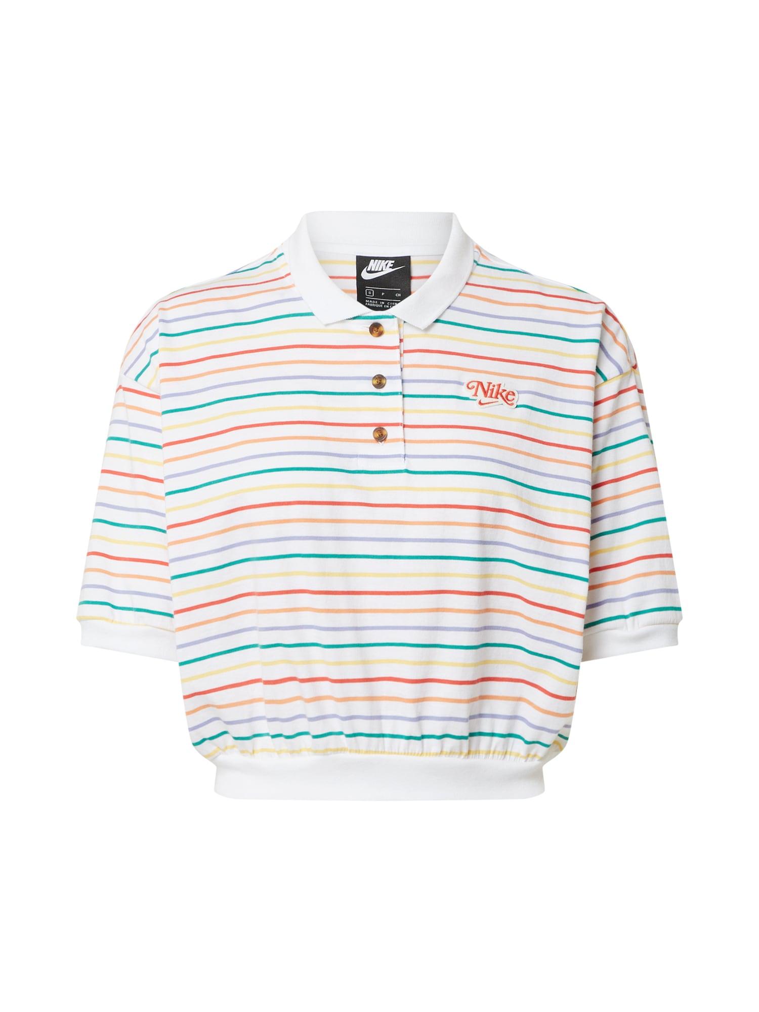Nike Sportswear Marškinėliai mišrios spalvos / balta