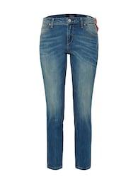 REPLAY Damen KATEWIN Regular Fit Jeans blau   08054381037041