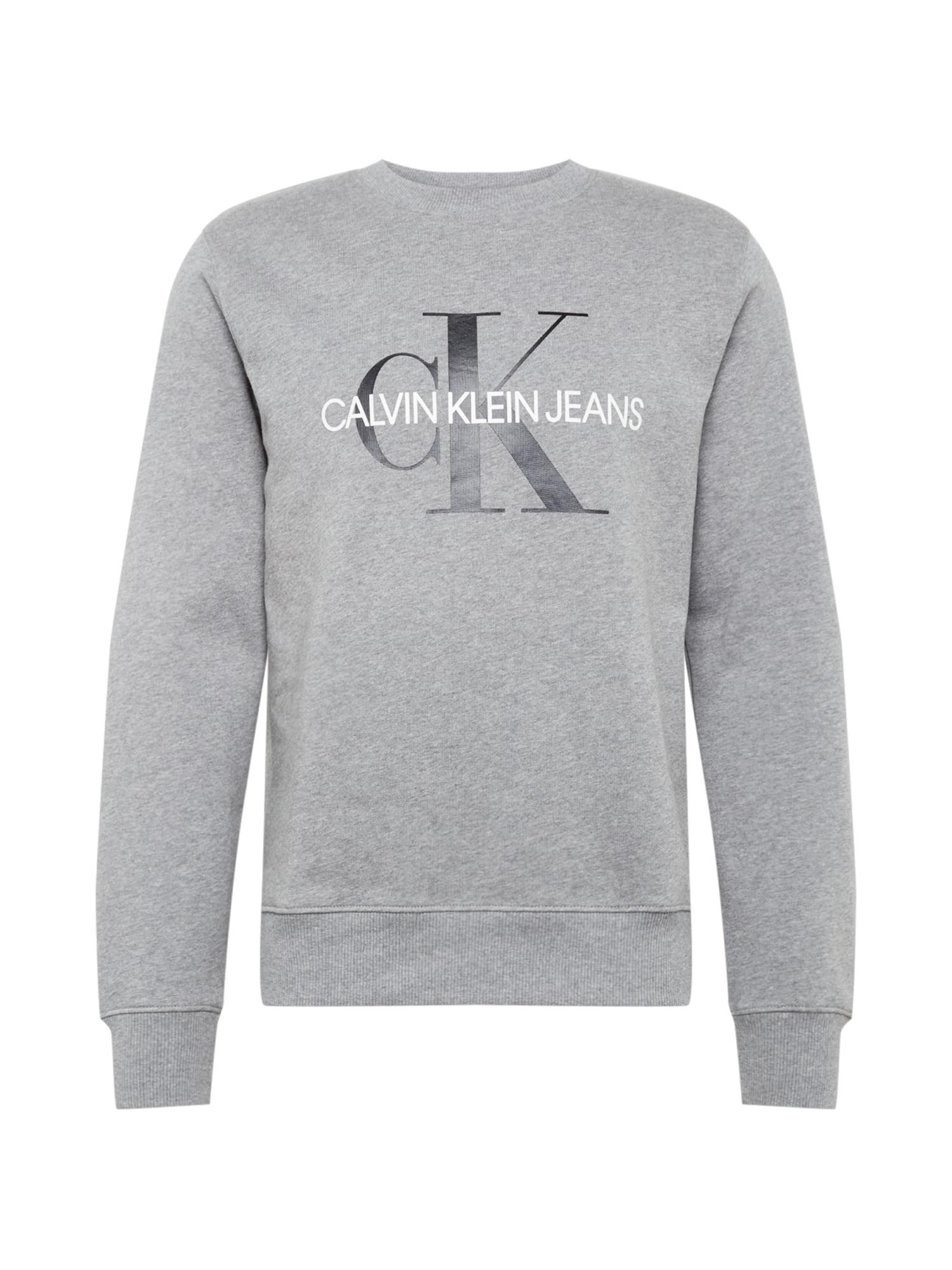 Calvin Klein Jeans Megztinis be užsegimo pilka