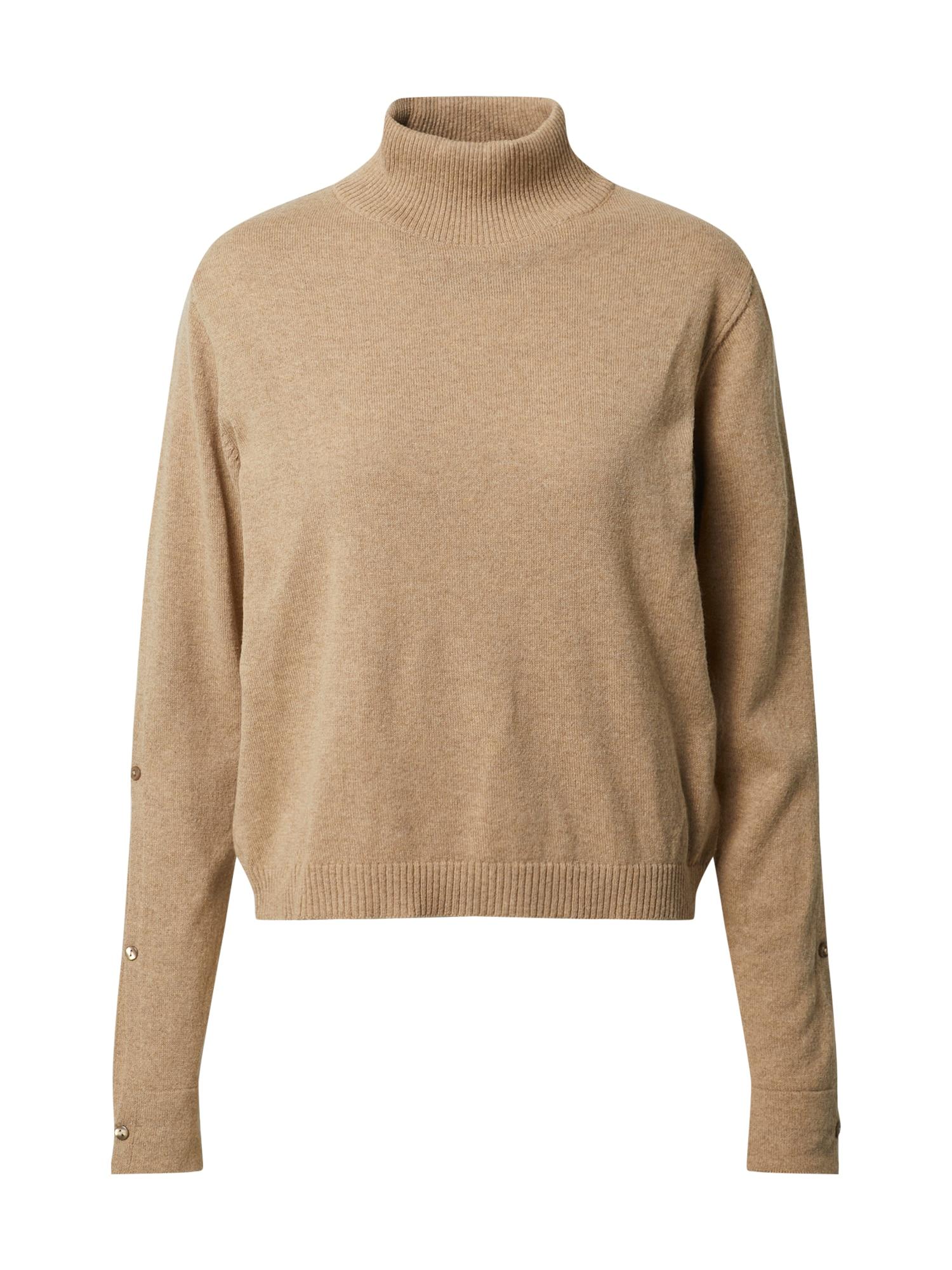NU-IN Megztinis šviesiai ruda
