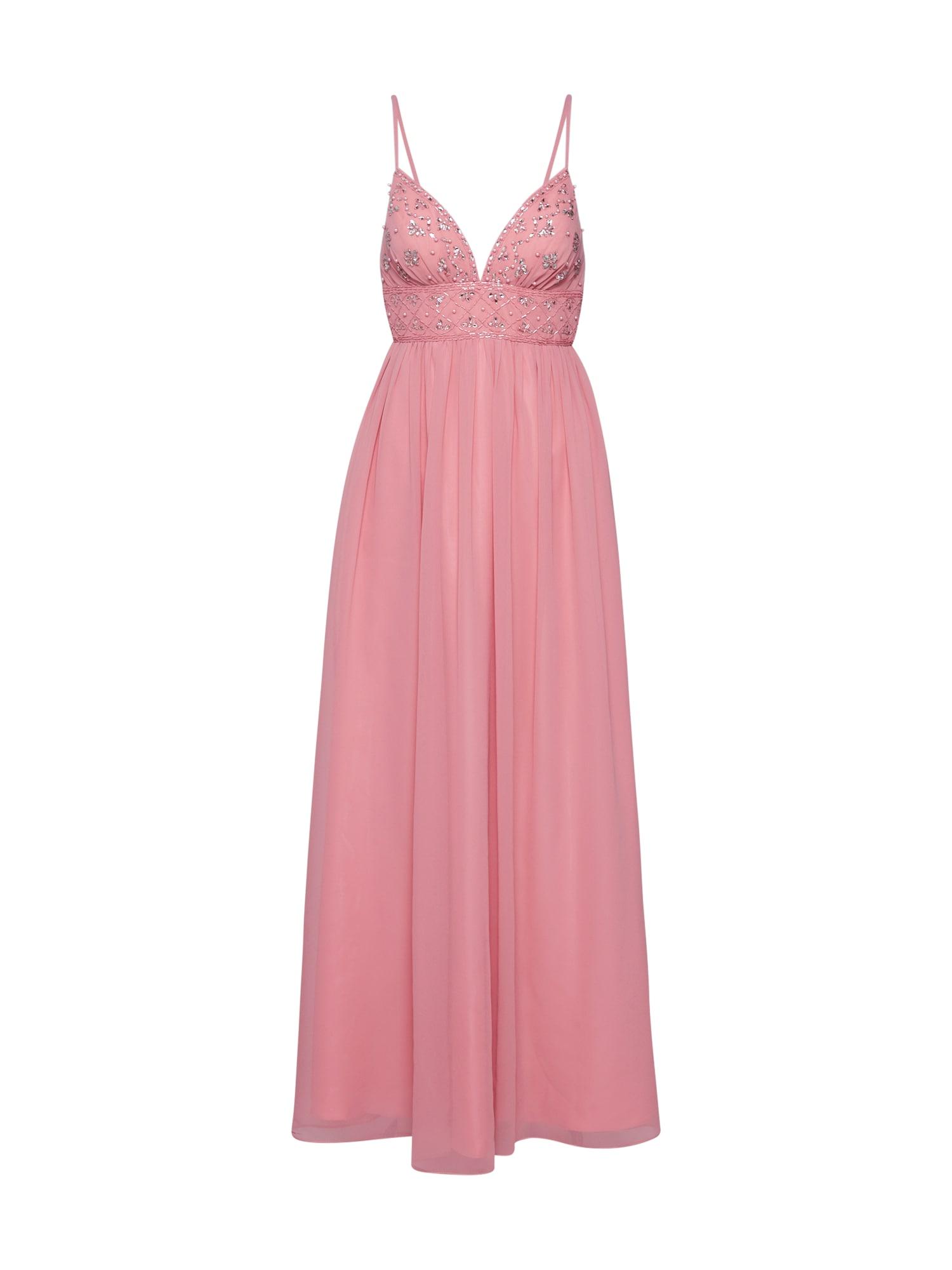 Laona Vakarinė suknelė sidabrinė / rožinė