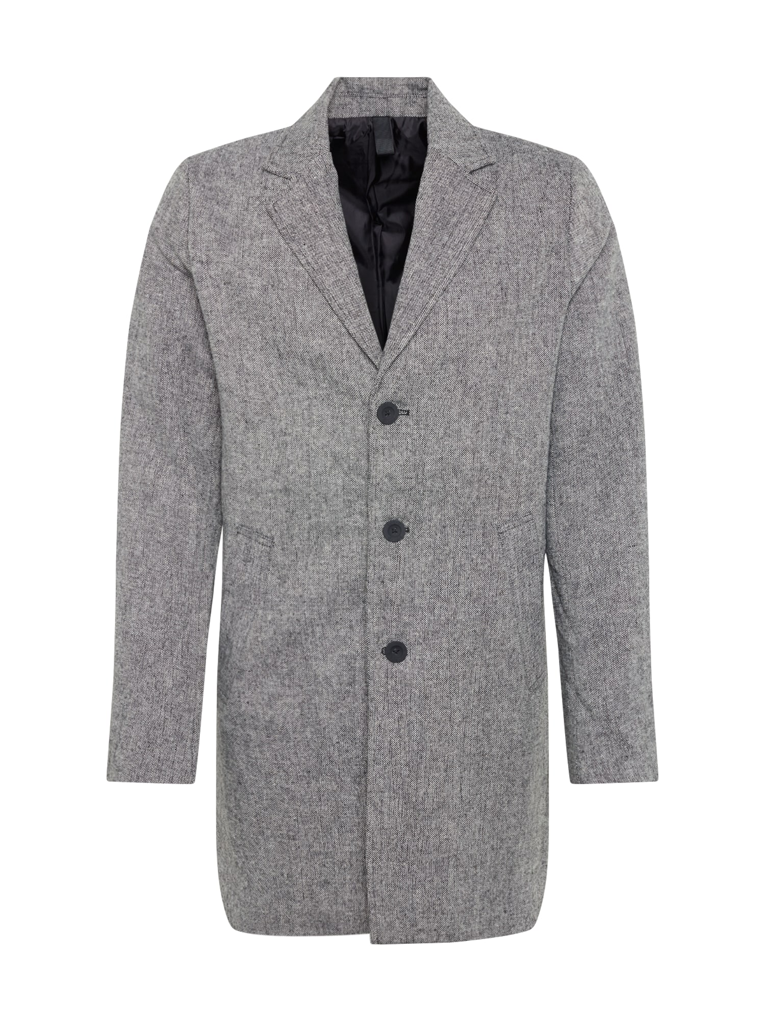 !Solid Prechodný kabát 'Fayette'  sivá