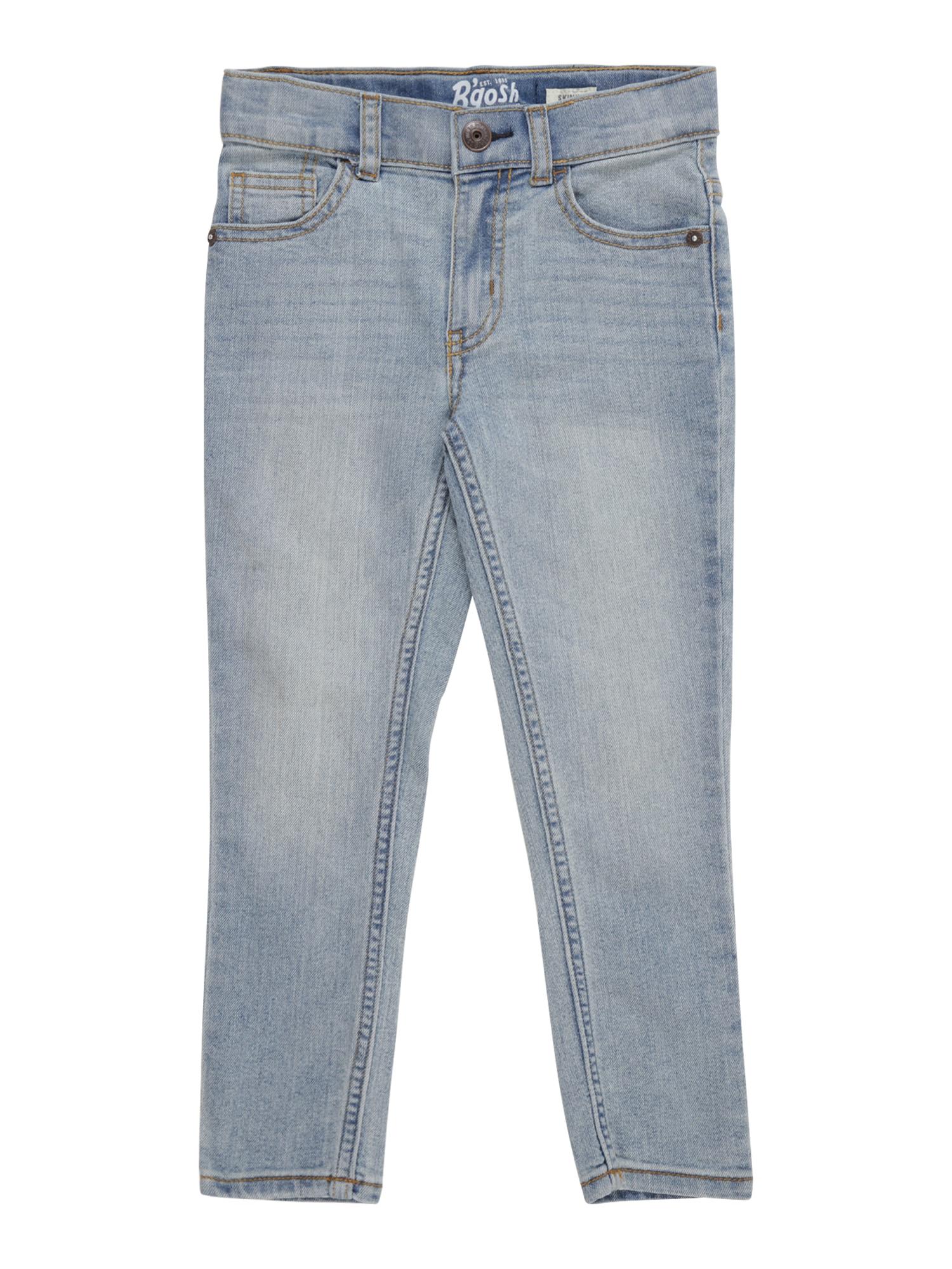 OshKosh Džinsai 'Core Skinny Jean Sun Faded Light' tamsiai (džinso) mėlyna