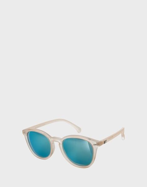 le specs matte sonnenbrille 39 bandwagon 39 in creme about you. Black Bedroom Furniture Sets. Home Design Ideas