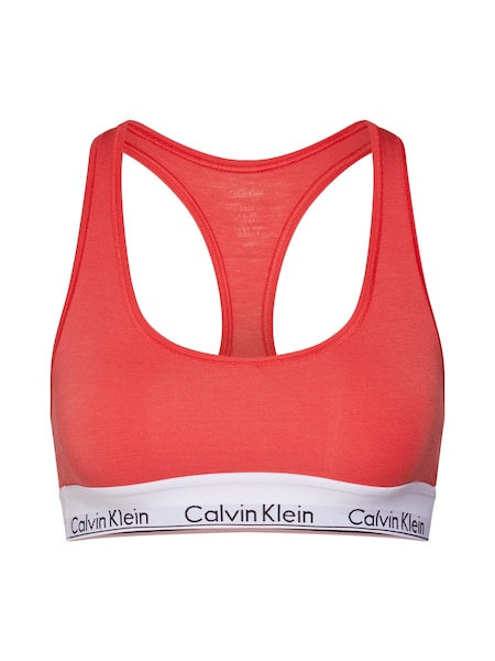 Waesche für Frauen - Calvin Klein Underwear Bustier Top koralle  - Onlineshop ABOUT YOU
