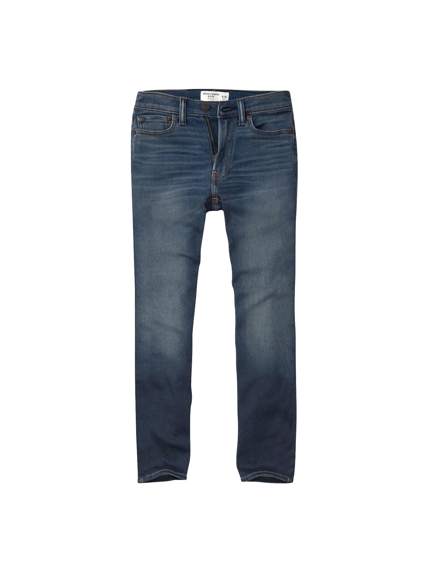 Abercrombie & Fitch Džinsai tamsiai (džinso) mėlyna