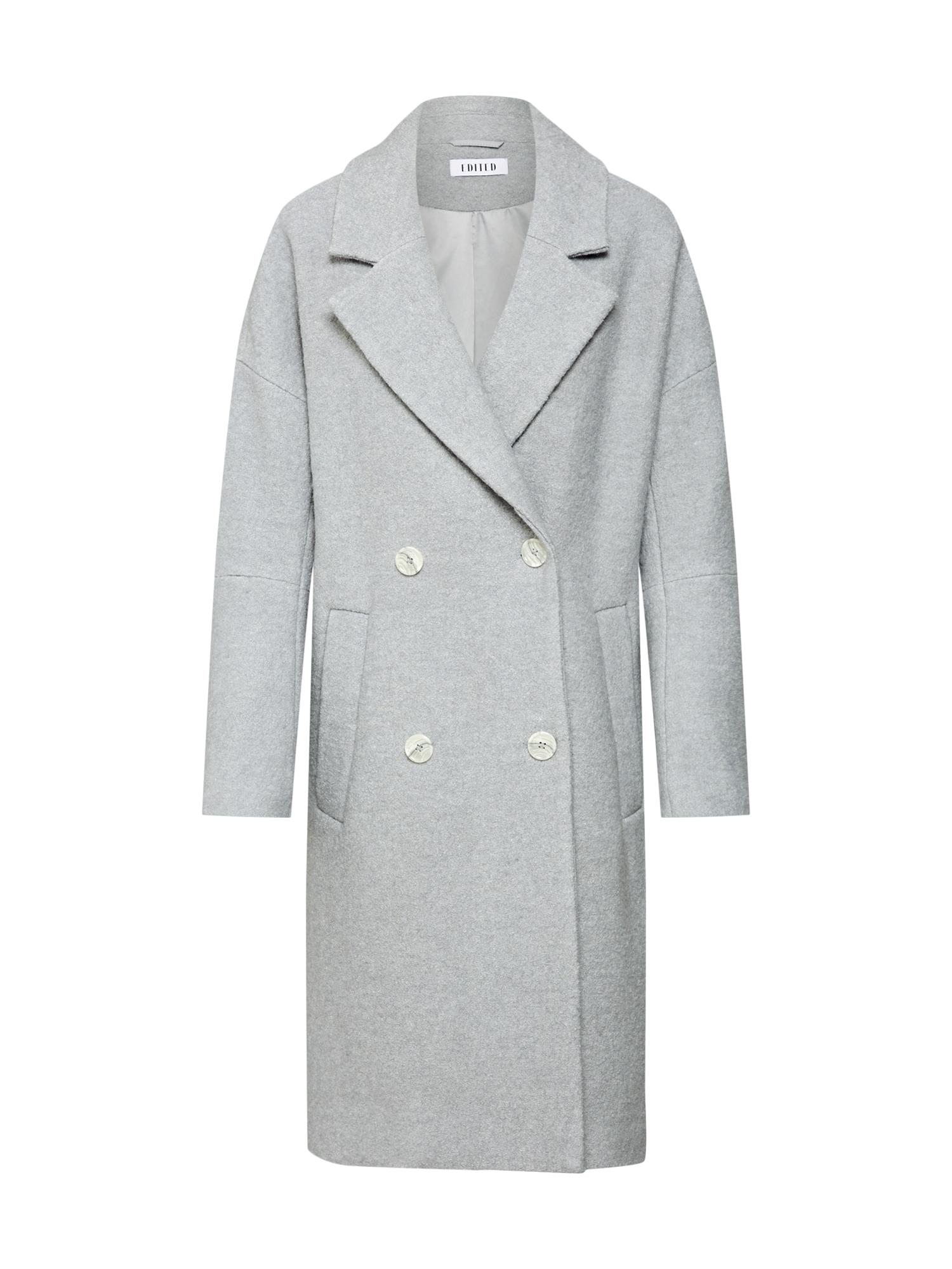 EDITED Žieminis paltas 'Hanne' pilka