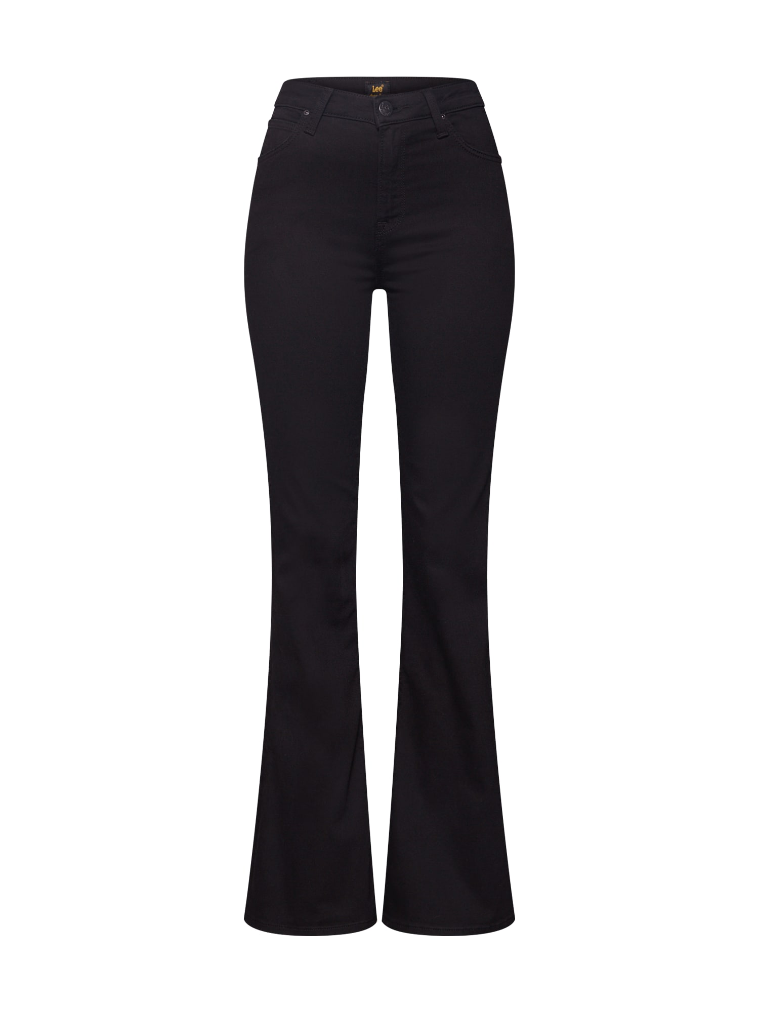Lee Džinsai juodo džinso spalva