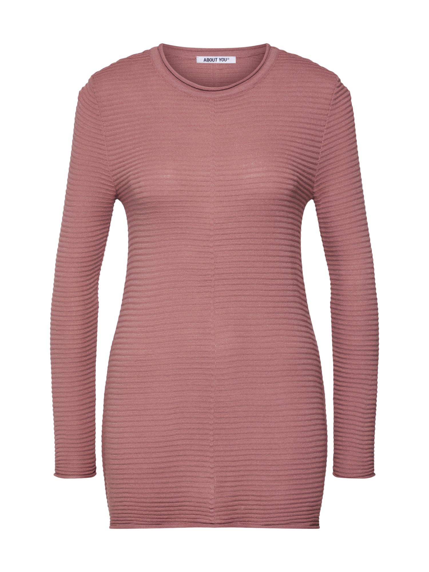 ABOUT YOU Megztinis 'Julika' ryškiai rožinė spalva