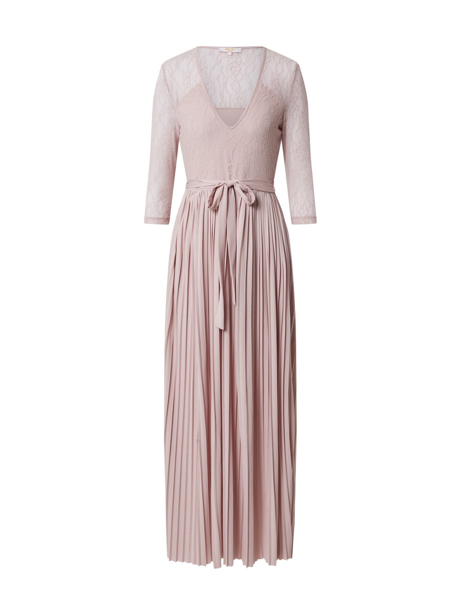 ABOUT YOU Vakarinė suknelė 'Camille' ryškiai rožinė spalva