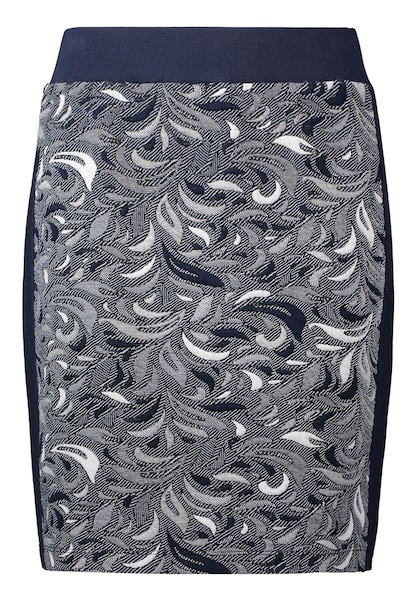 Roecke für Frauen - Betty Co Rock dunkelblau grau weiß  - Onlineshop ABOUT YOU
