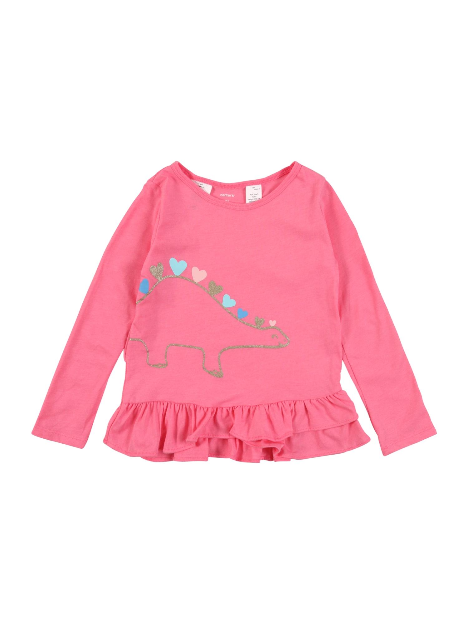 Carter's Marškinėliai 'Dino' rožinė