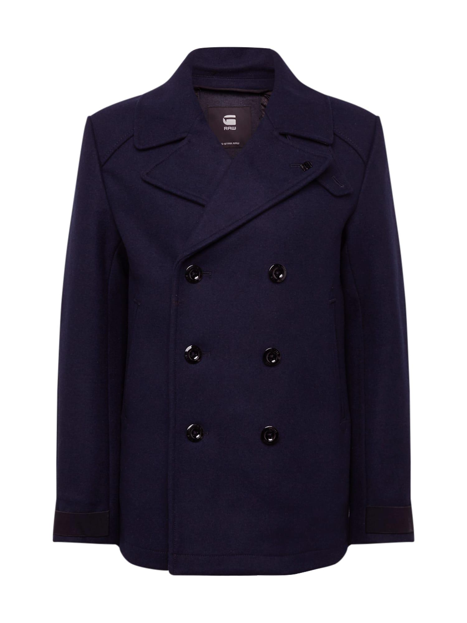 G-Star RAW Rudeninis-žieminis paltas 'Traction wool peacoat' tamsiai mėlyna
