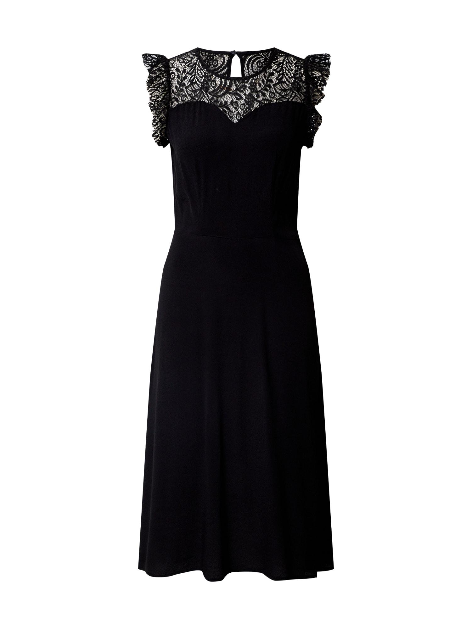 VERO MODA Kokteilinė suknelė 'Alberta' juoda