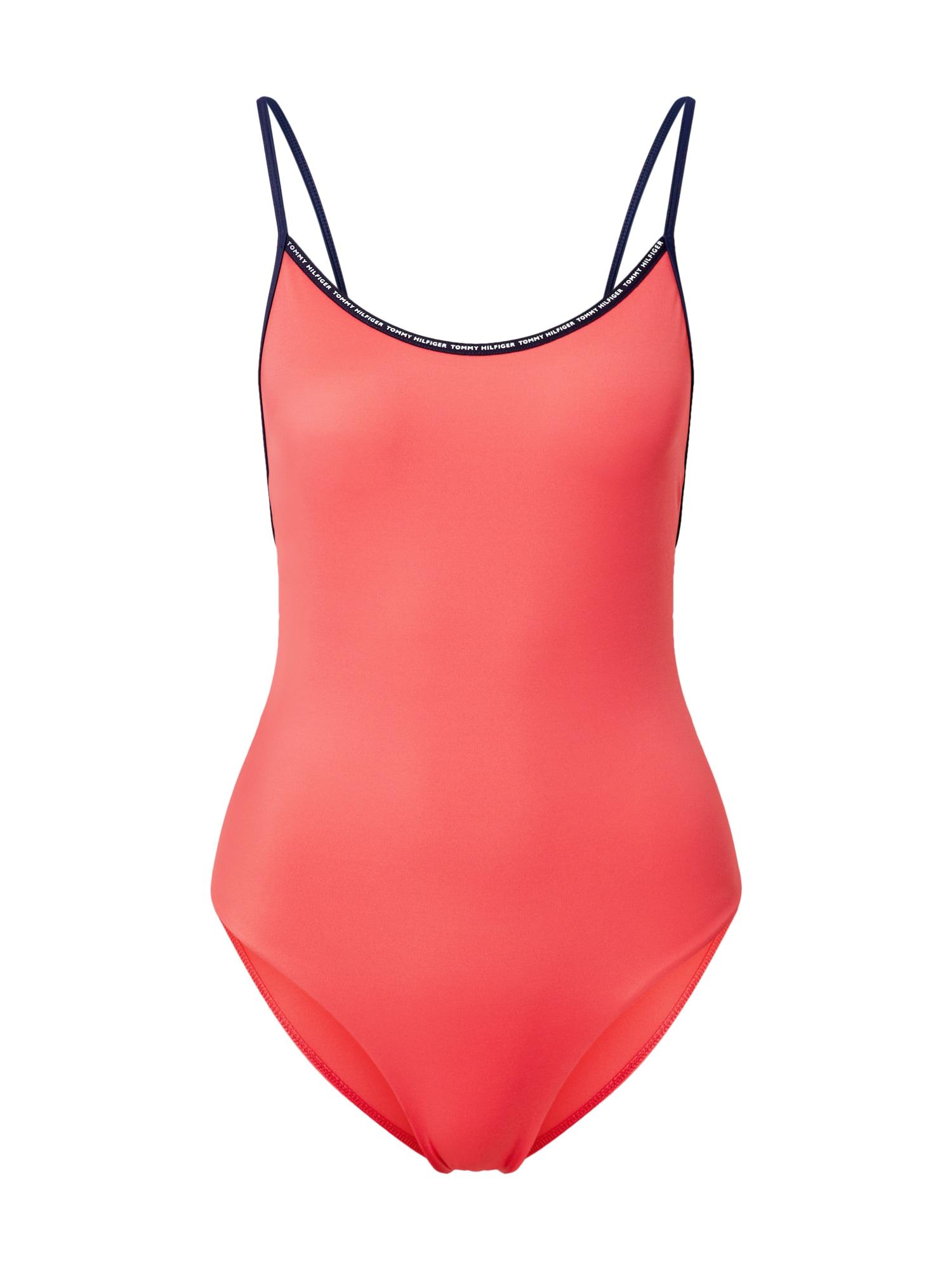 Tommy Hilfiger Underwear Maudymosi kostiumėlis 'ONE-PIECE' oranžinė-raudona