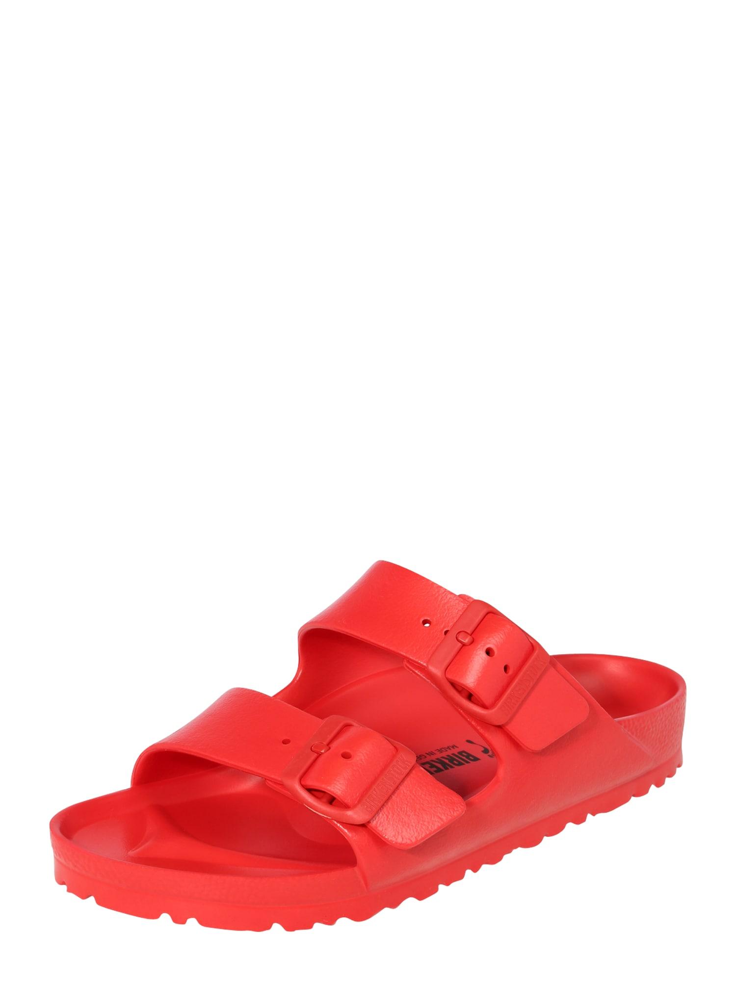 BIRKENSTOCK Pantofle 'Arizona'  červená