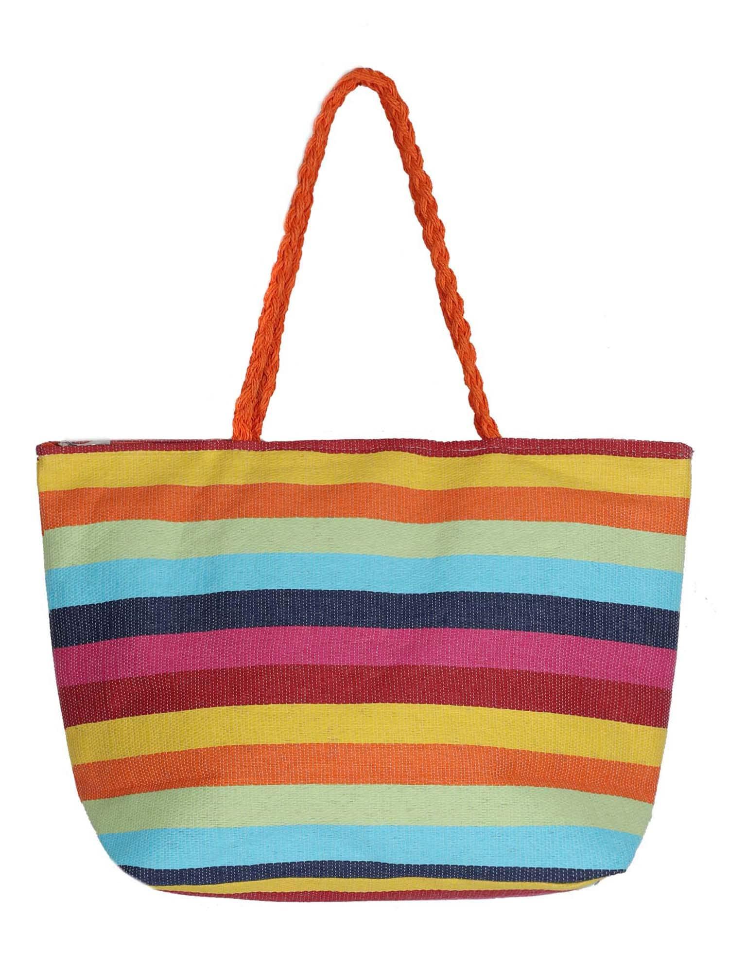 ABOUT YOU Paplūdimio krepšys 'Patricia' mišrios spalvos