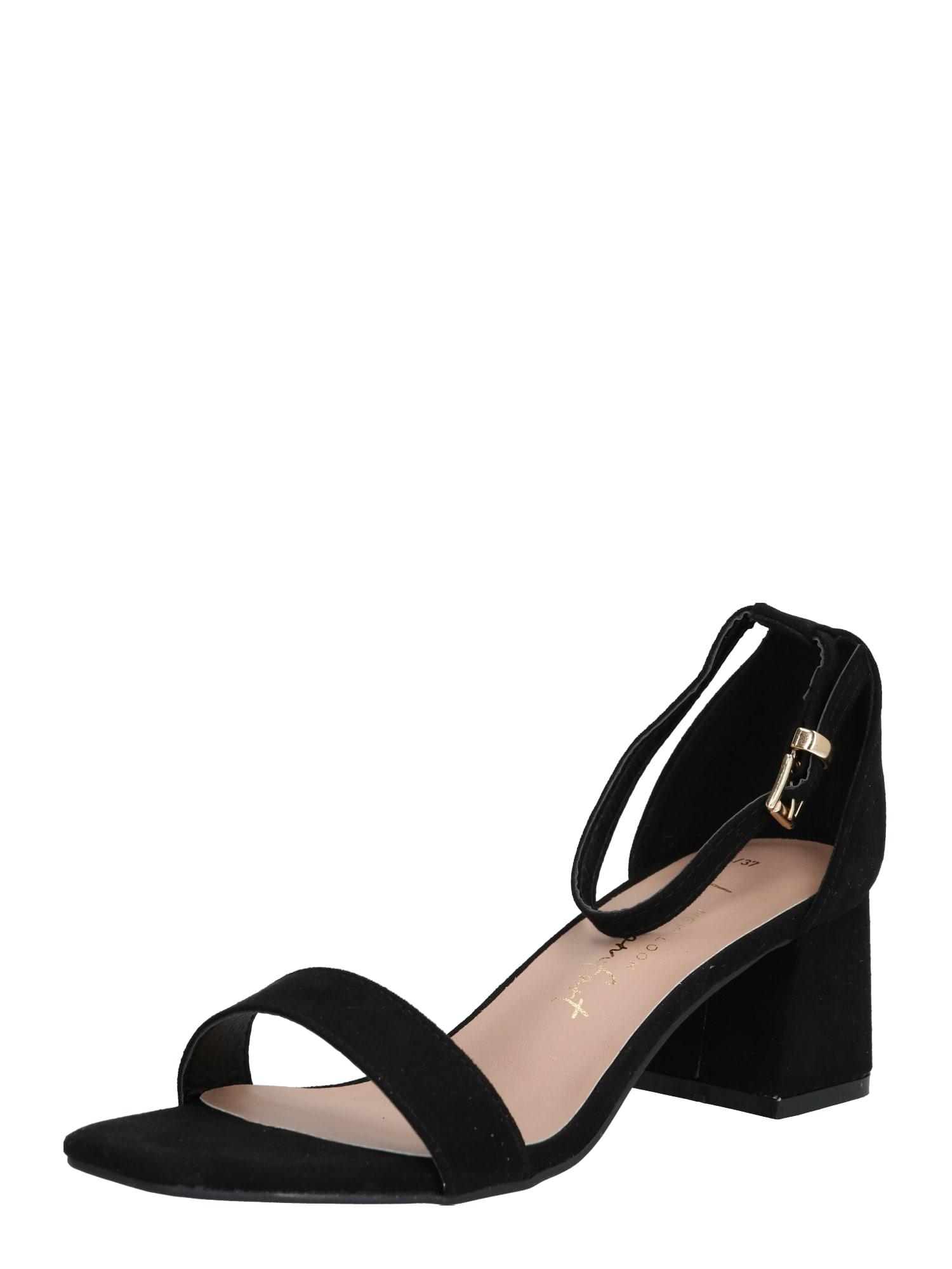NEW LOOK Sandále 'ZANIEL'  zlatá / čierna
